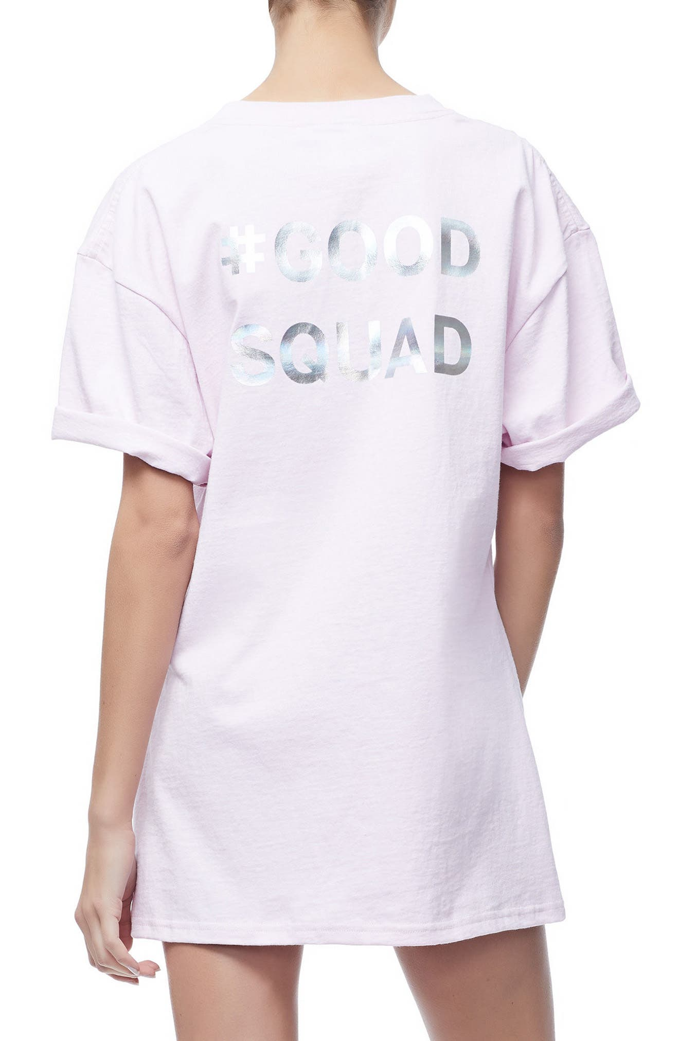 Good Squad Tee,                             Alternate thumbnail 2, color,                             Pink