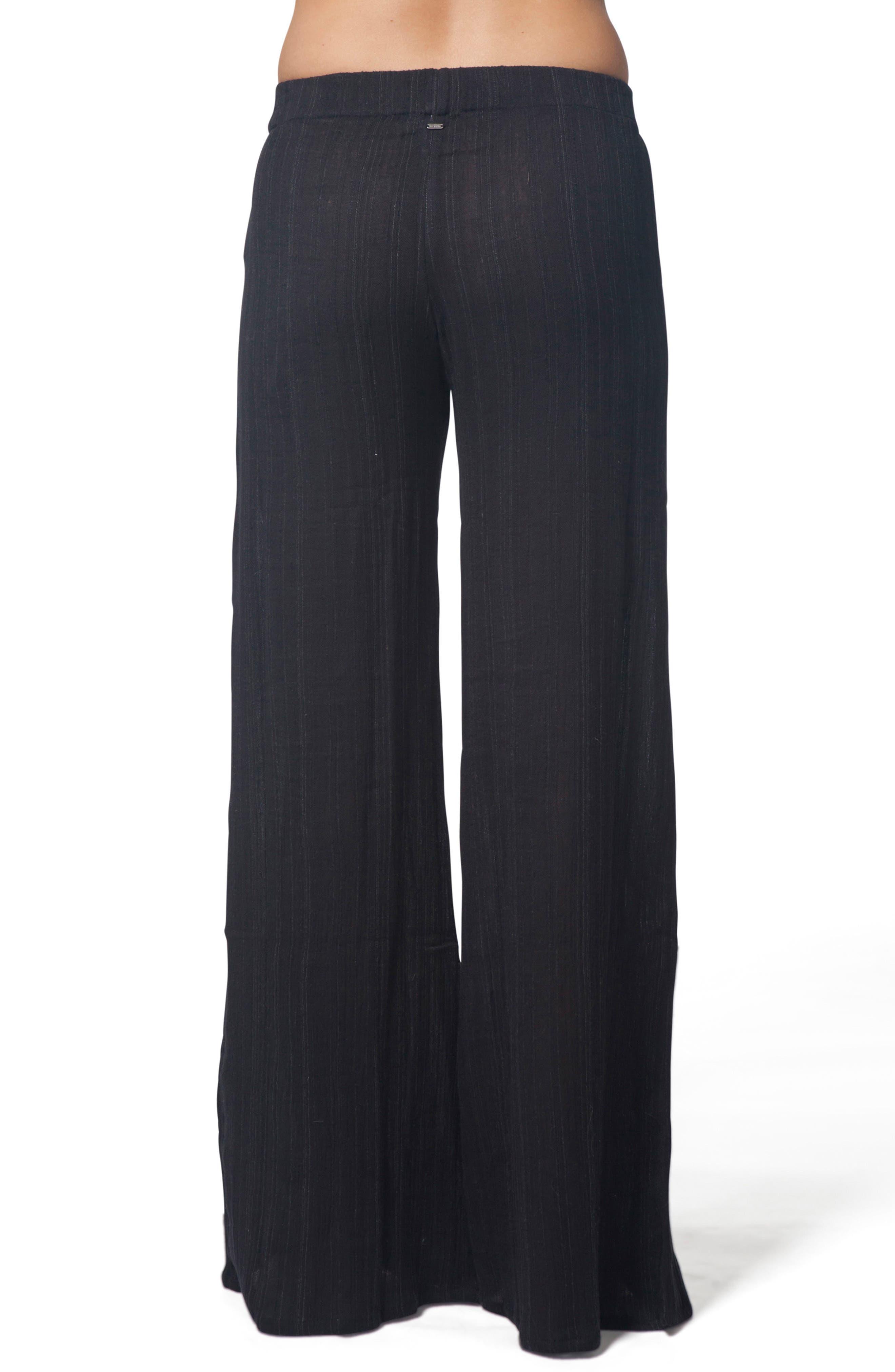 Classic Surf Beach Pants,                             Alternate thumbnail 3, color,                             Black