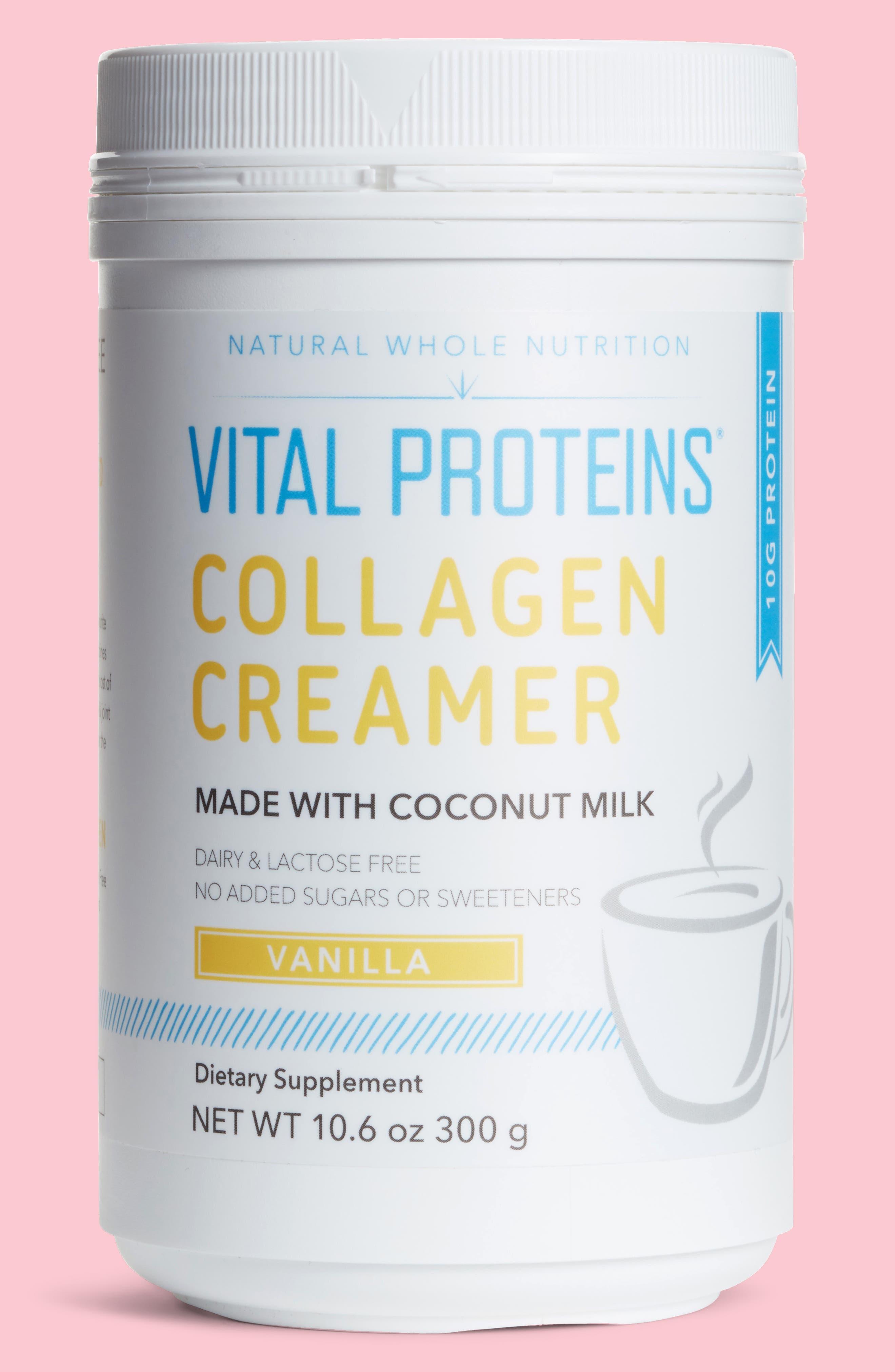 Vital Proteins Collagen Creamer Vanilla Dietary Supplement