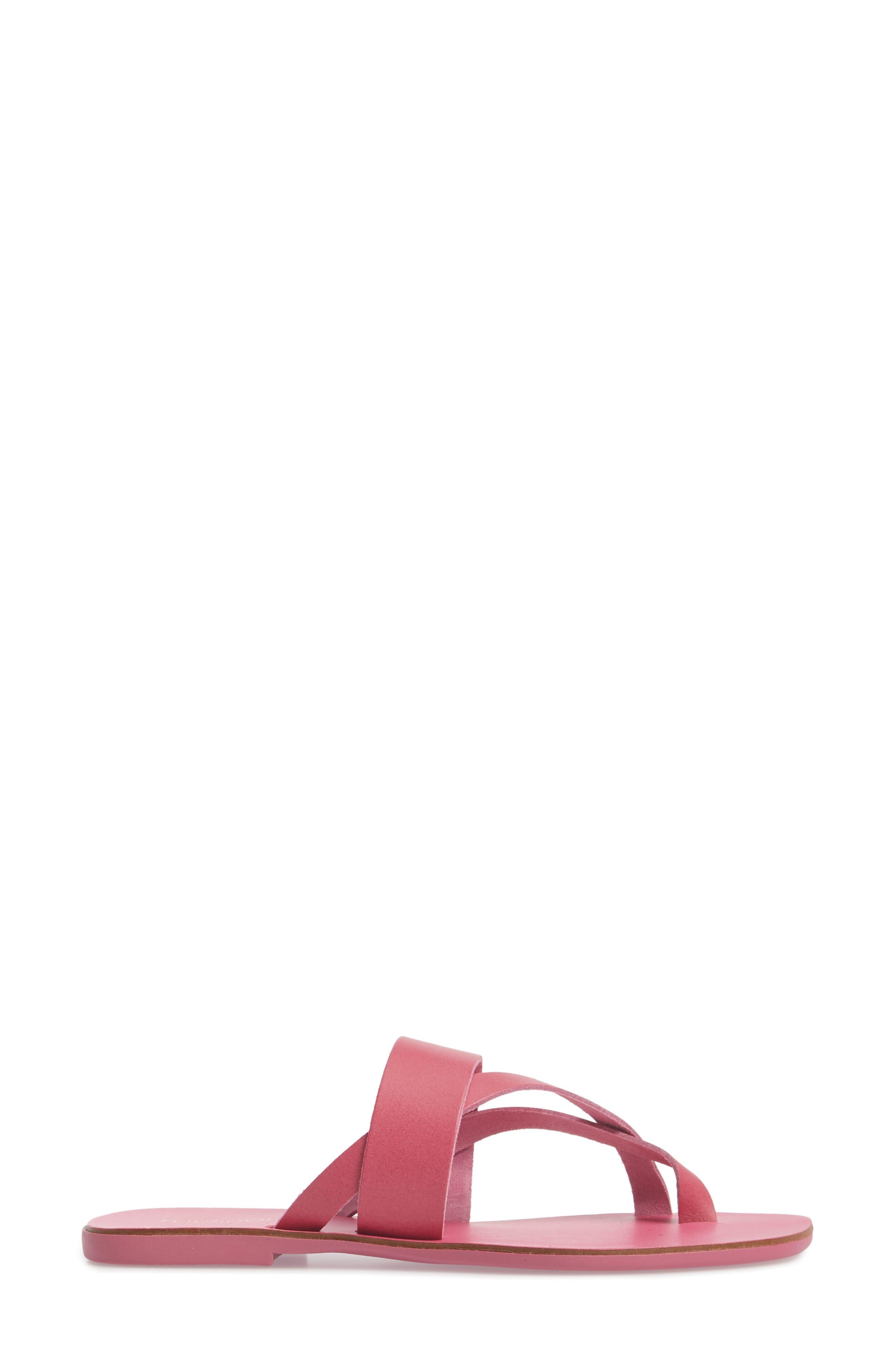Harper Sandal,                             Alternate thumbnail 3, color,                             Pink