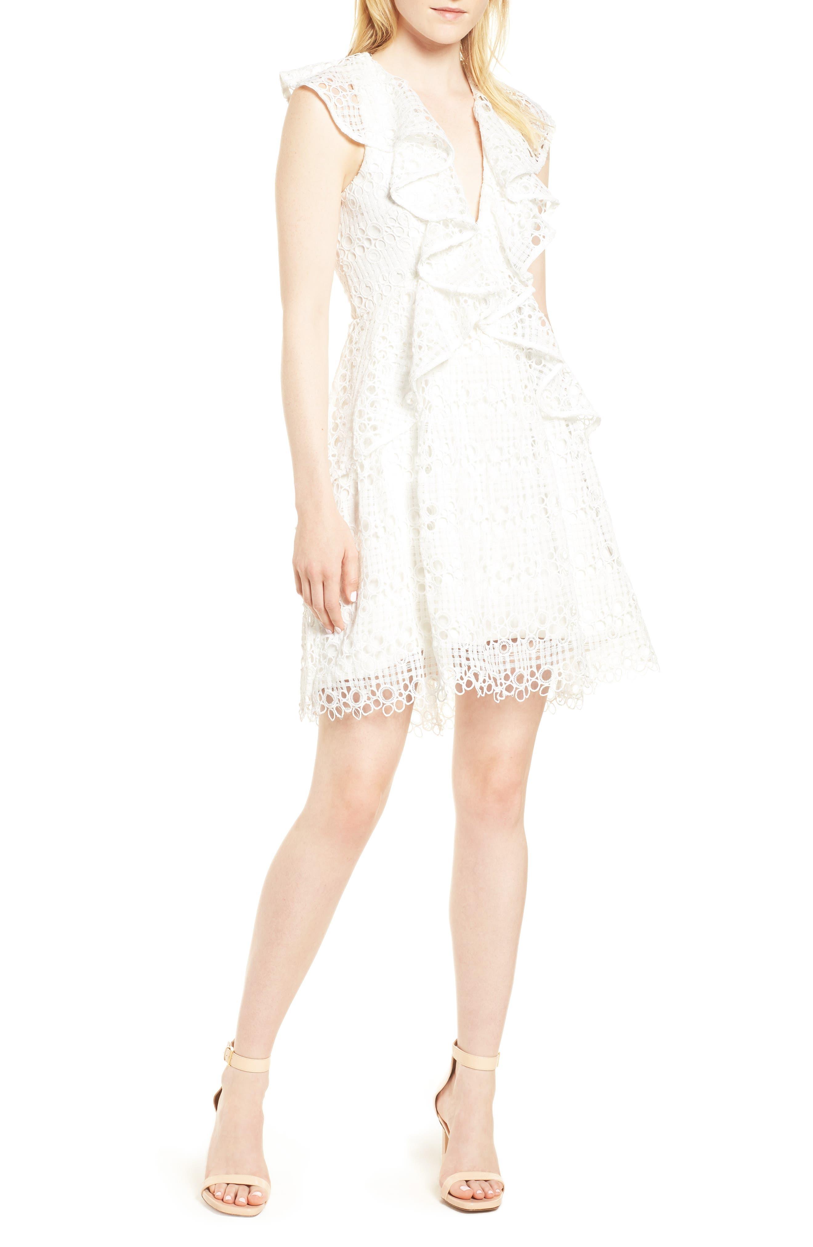 Interlude Dress,                         Main,                         color, White