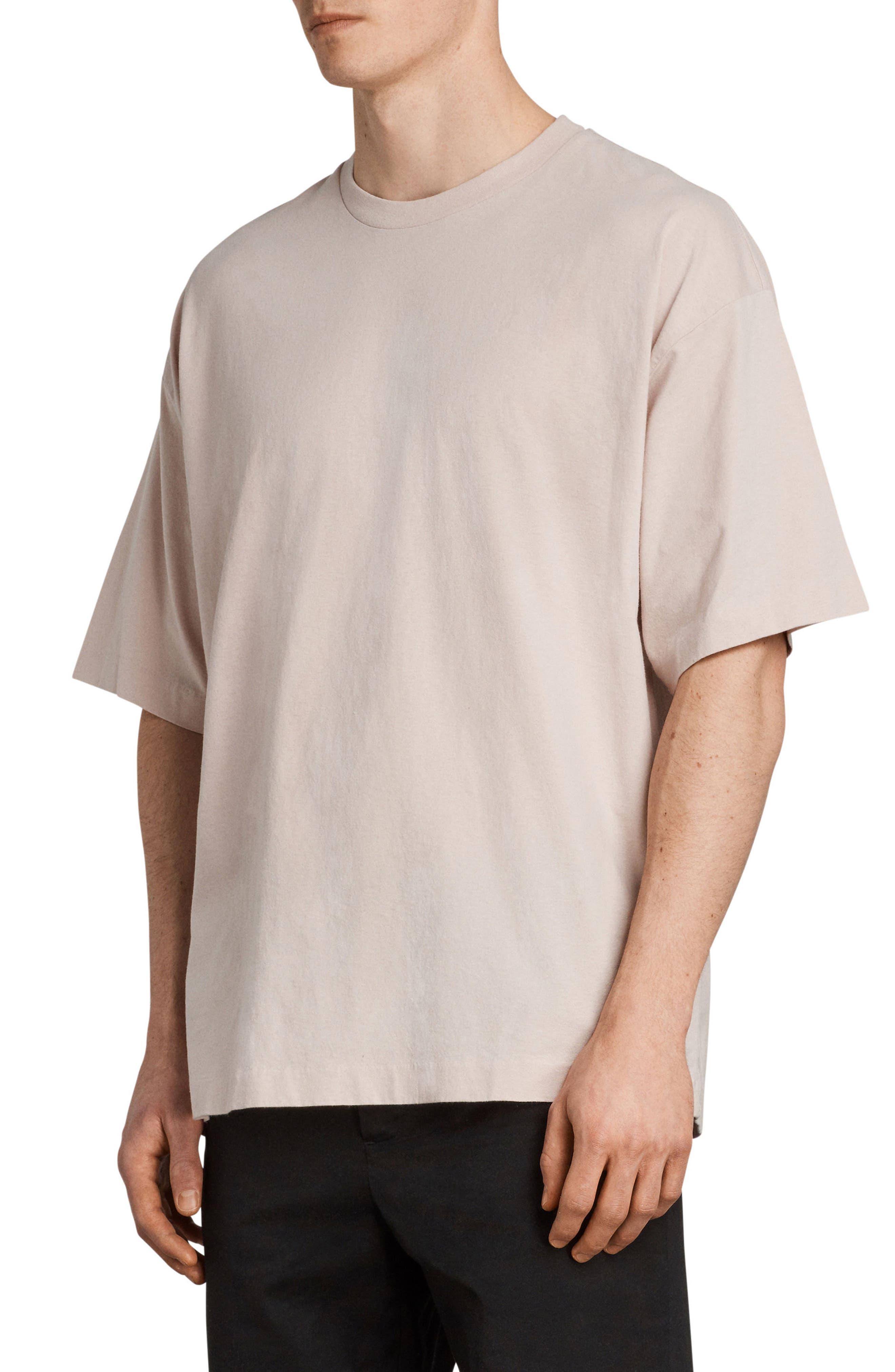 Atnom Crewneck T-Shirt,                             Alternate thumbnail 3, color,                             River Pink
