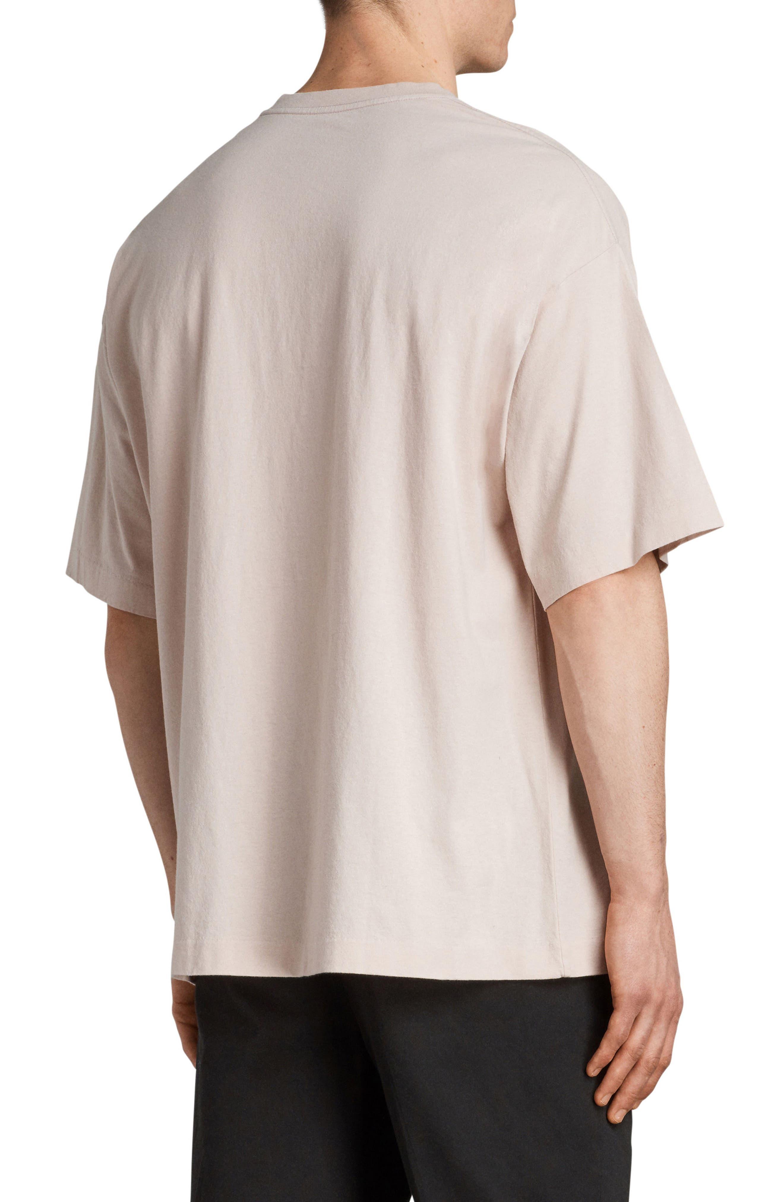 Atnom Crewneck T-Shirt,                             Alternate thumbnail 2, color,                             River Pink