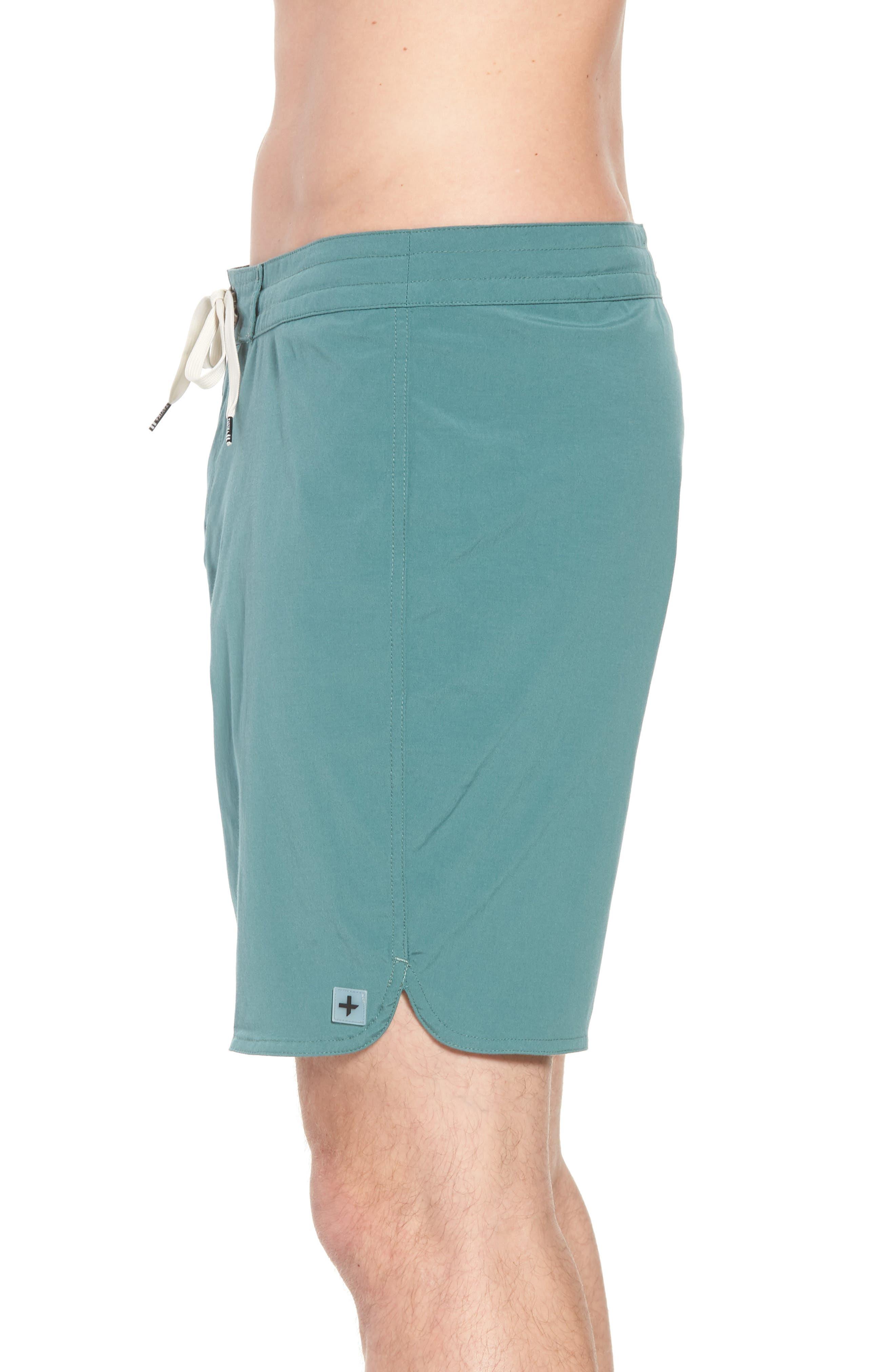 Avalon Board Shorts,                             Alternate thumbnail 3, color,                             Palm Green