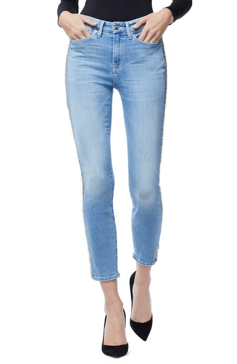 Good Legs Chain Crop Skinny Jeans