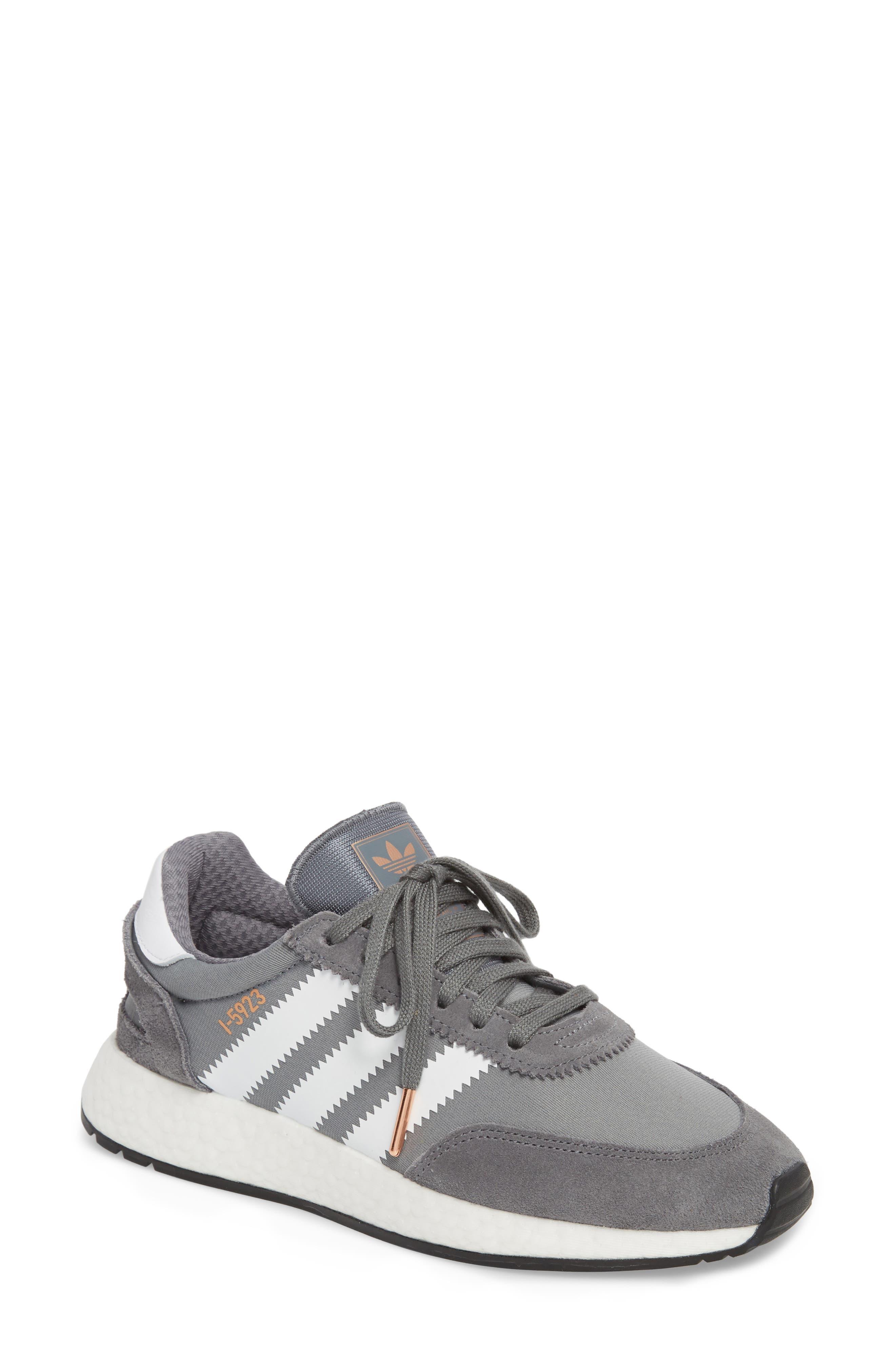 I-5923 Sneaker,                             Main thumbnail 1, color,                             Visible Grey/ White/ Black