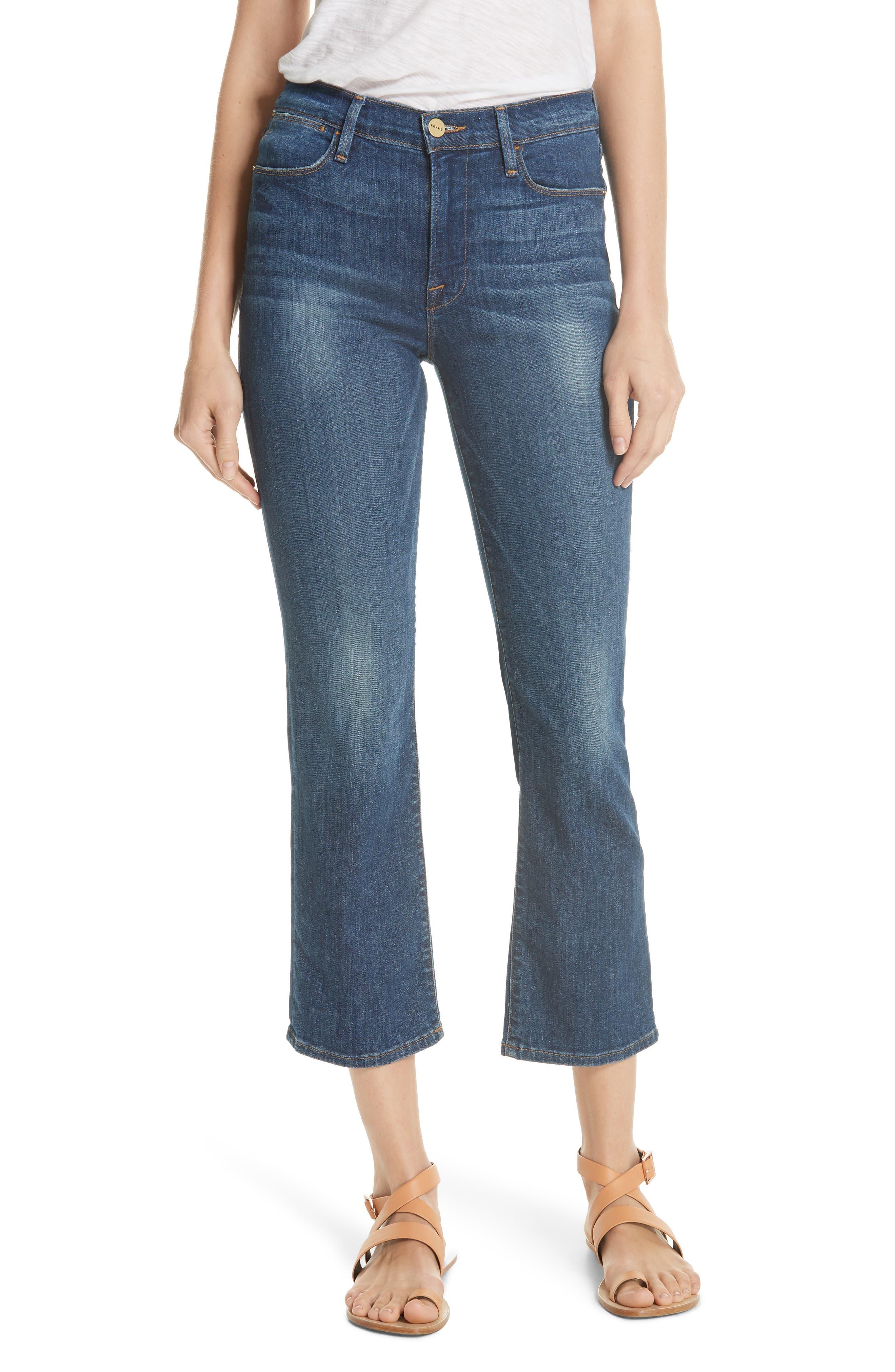 Le High Straight Leg Jeans,                         Main,                         color, York