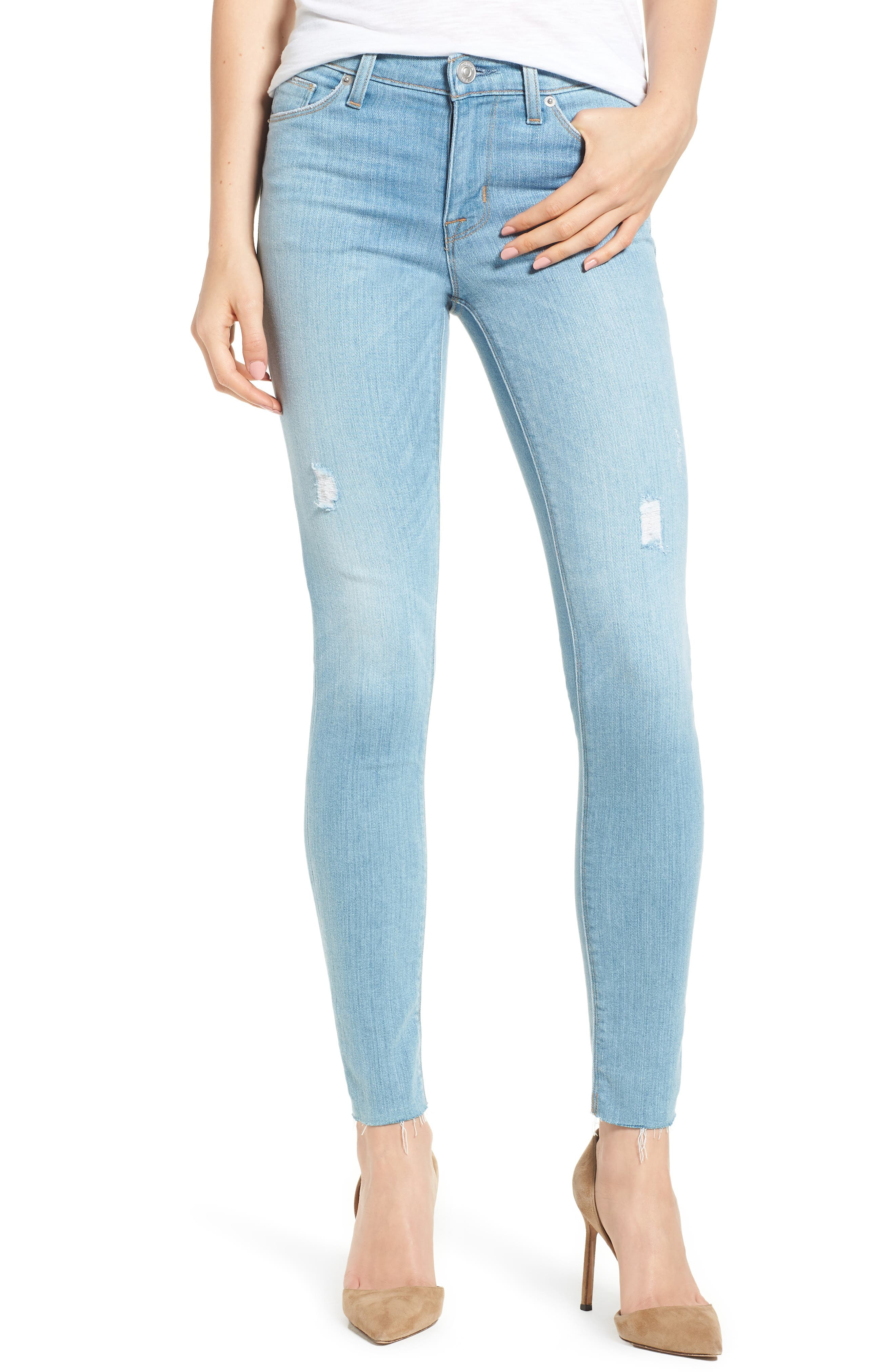 Nico Ankle Super Skinny Jeans,                             Main thumbnail 1, color,                             Miss You