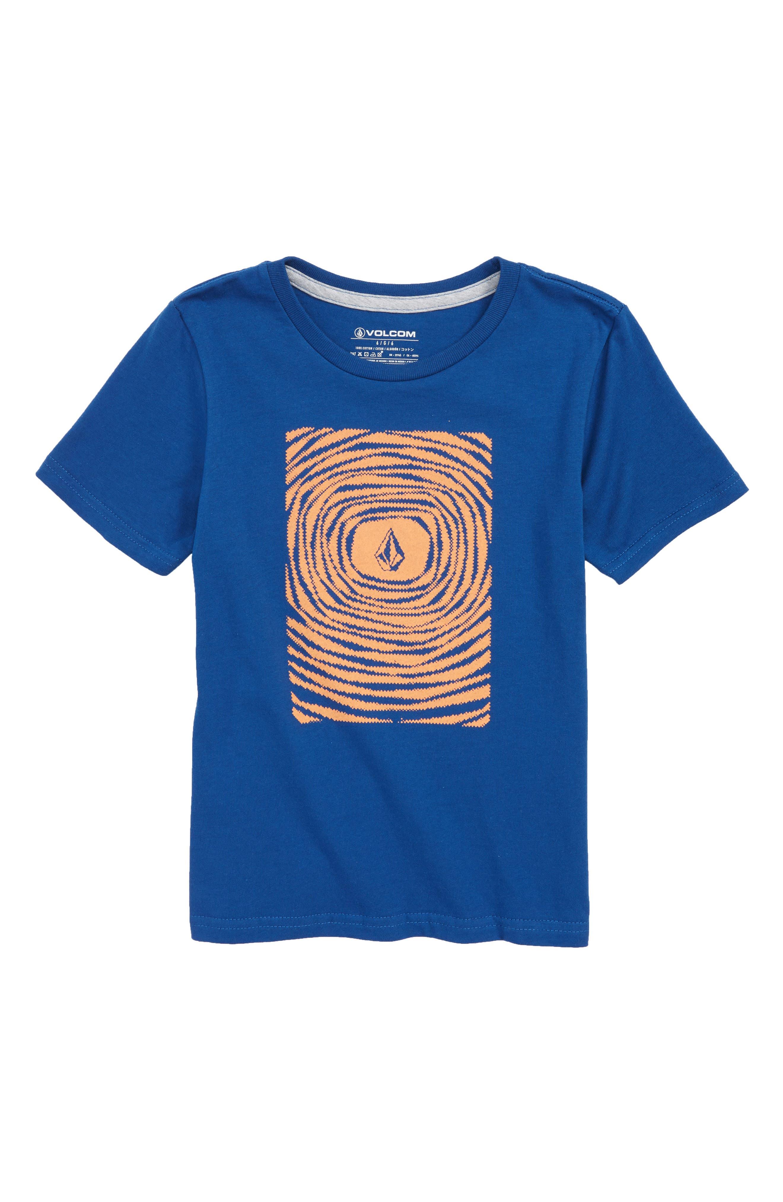 Engulf Graphic T-Shirt,                             Main thumbnail 1, color,                             Camper Blue