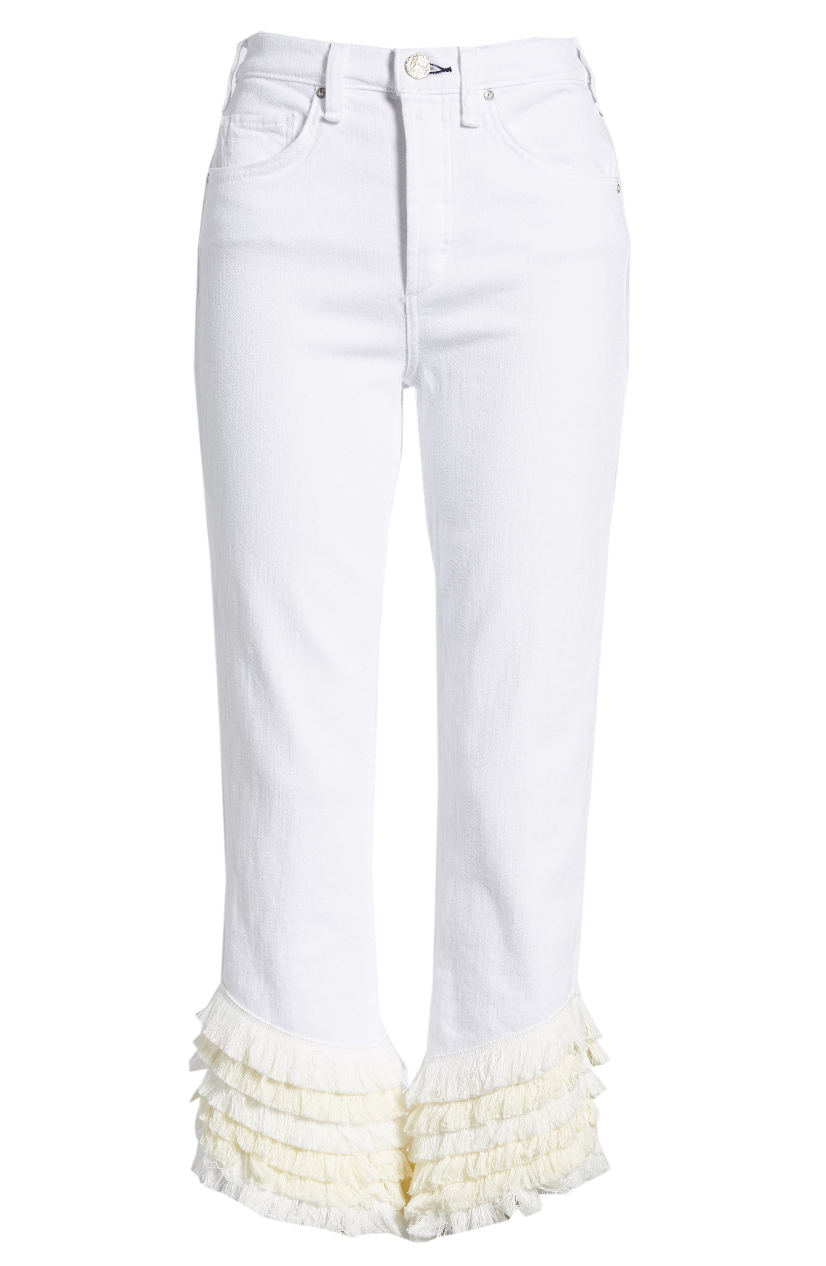 Cha Cha Flare Jeans,                             Alternate thumbnail 7, color,                             Swing Time