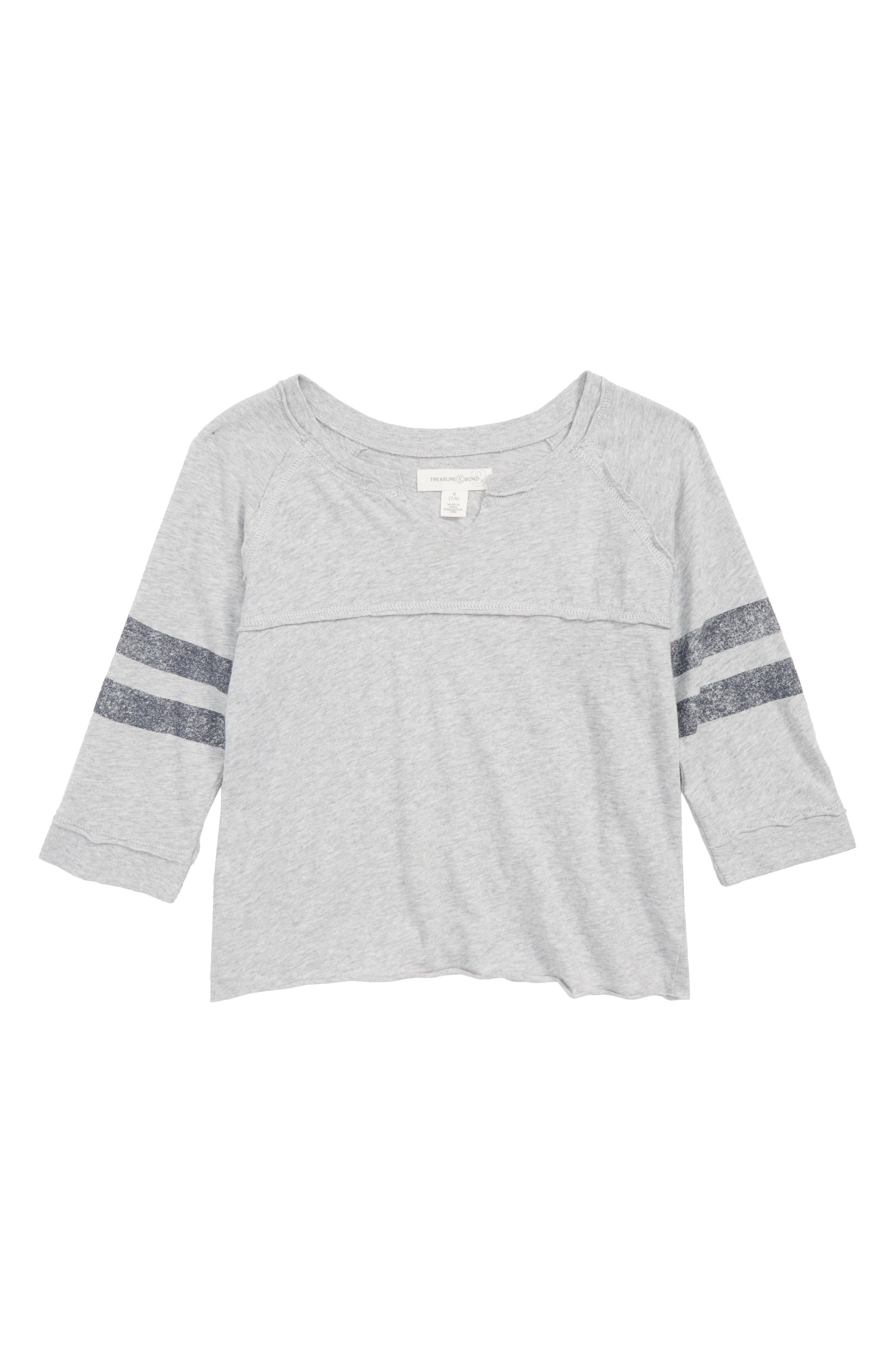 Sporty Vintage Tee,                             Main thumbnail 1, color,                             Grey Ash Heather