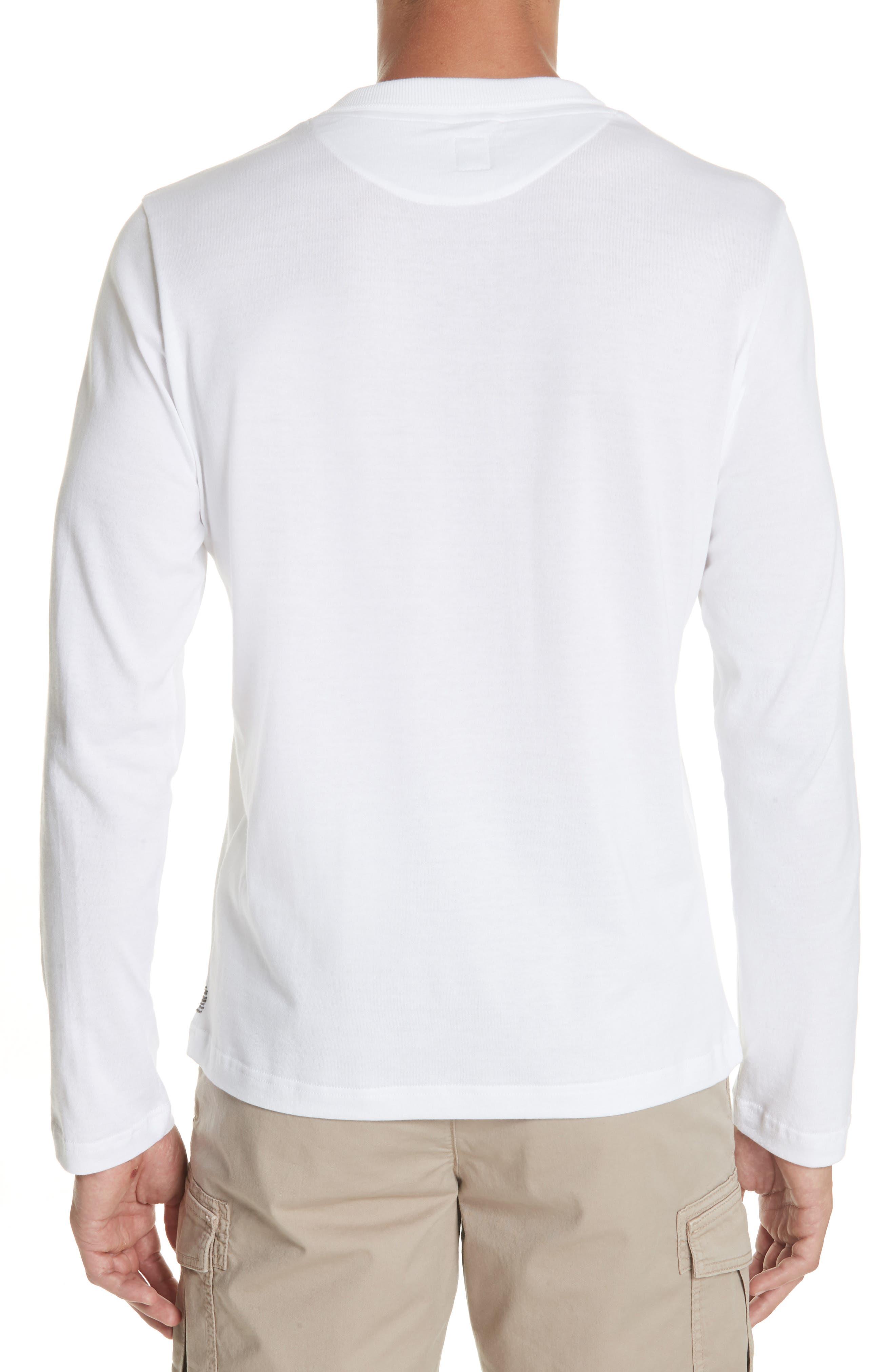 Long Sleeve Polo Shirt,                             Alternate thumbnail 2, color,                             Ivory