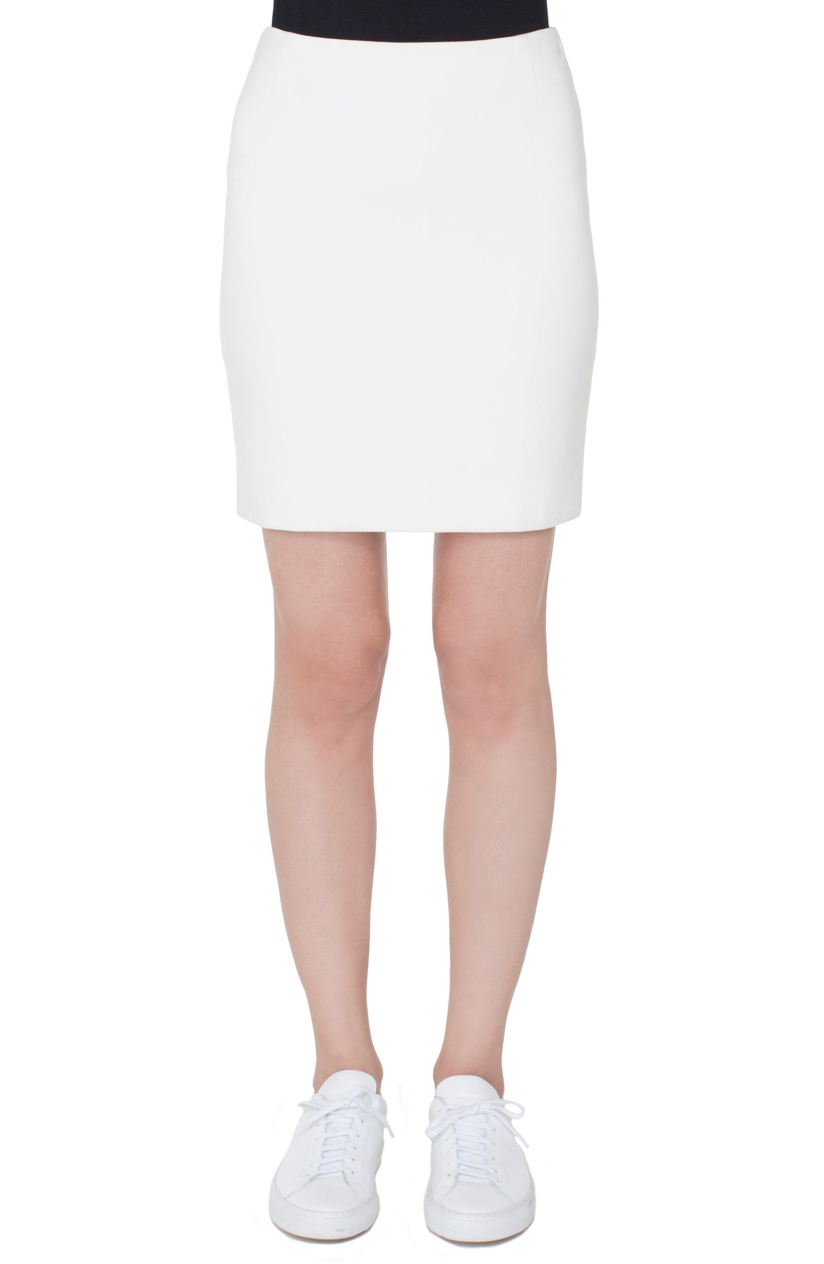 Akris punto Jersey Miniskirt