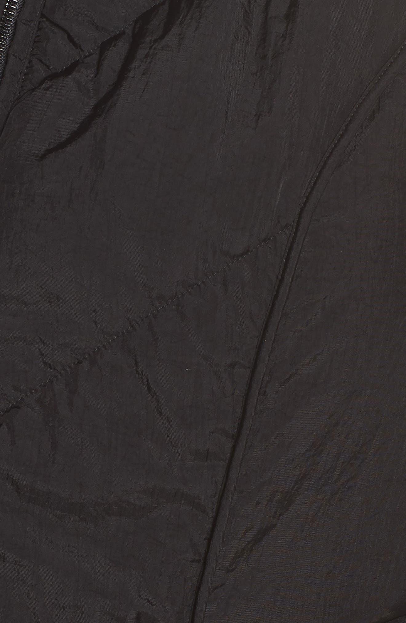 Packable Pillow Collar Vest,                             Alternate thumbnail 6, color,                             Black
