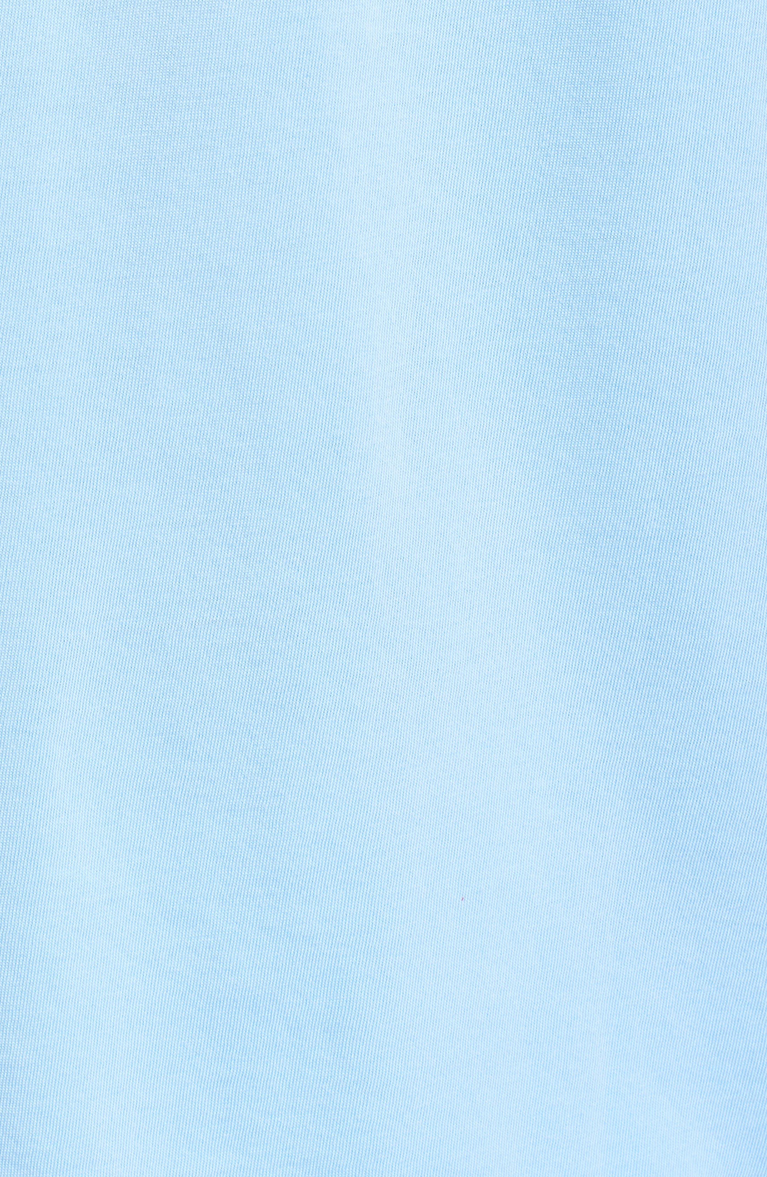 Tie Guys Plate Regular Fit Crewneck T-Shirt,                             Alternate thumbnail 5, color,                             Jake Blue