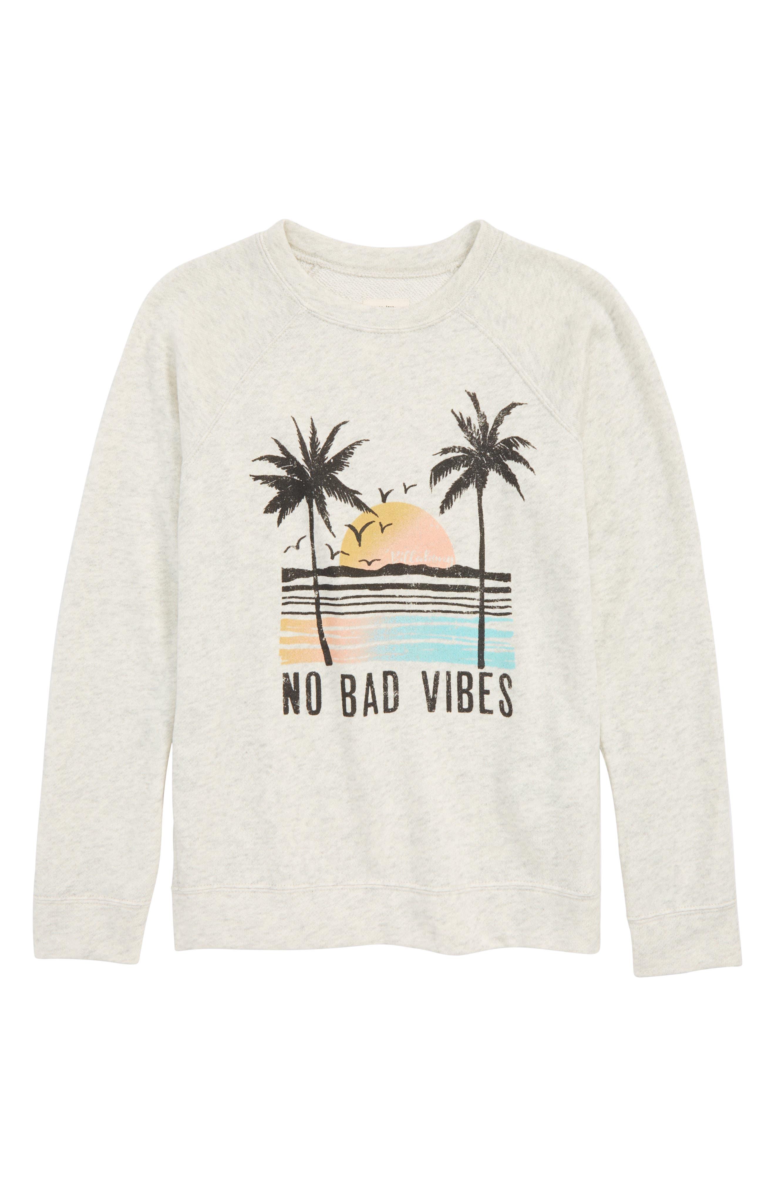 Billabong This Time Graphic Sweatshirt (Little Girls & Big Girls)