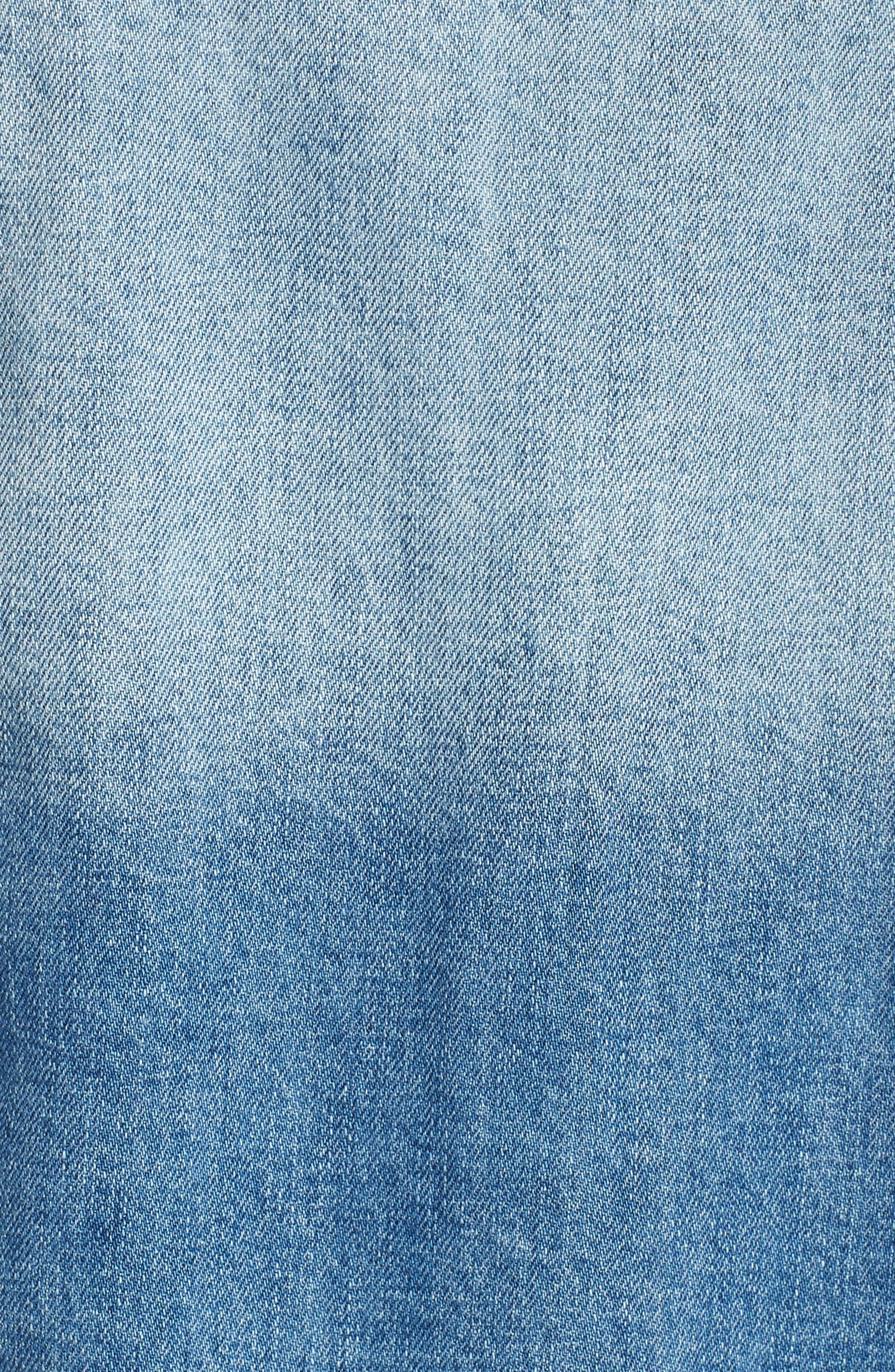 KUT from the Kloth Denim Vest,                             Alternate thumbnail 6, color,                             Augmented