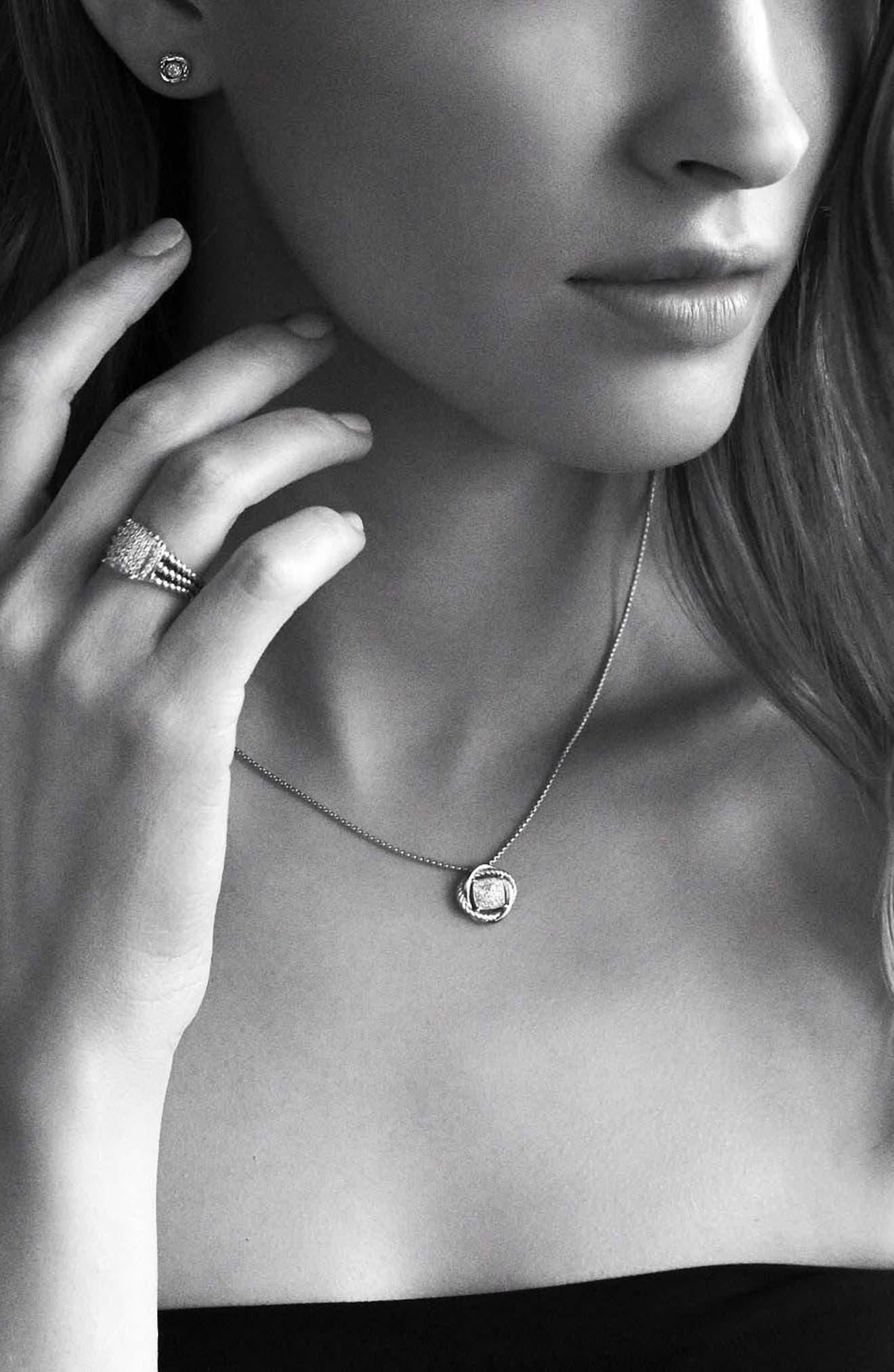 'Wheaton' Petite Ring with Diamonds,                             Alternate thumbnail 5, color,                             Diamond