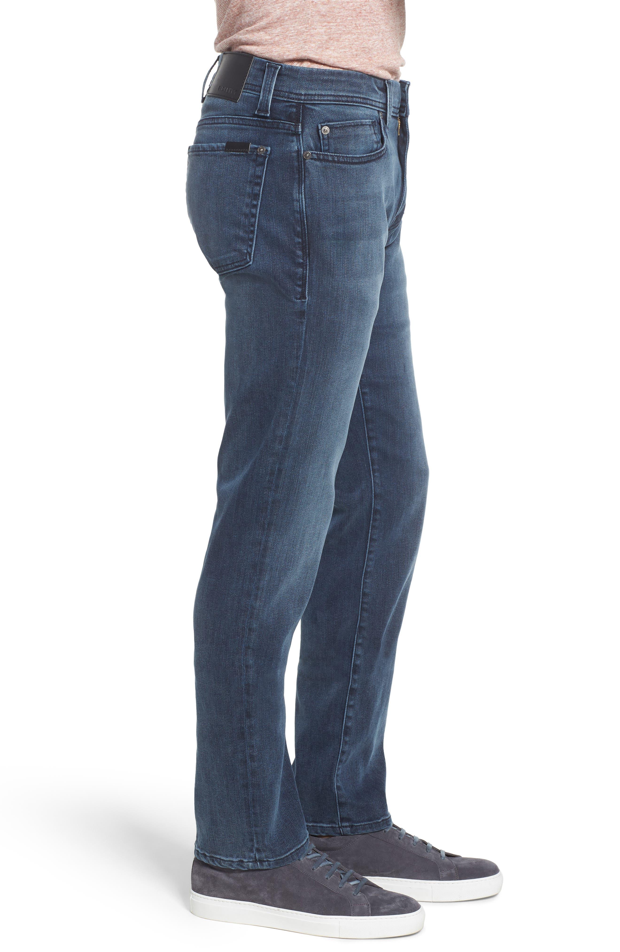 Jimmy Slim Straight Leg Jeans,                             Alternate thumbnail 3, color,                             Lexicon