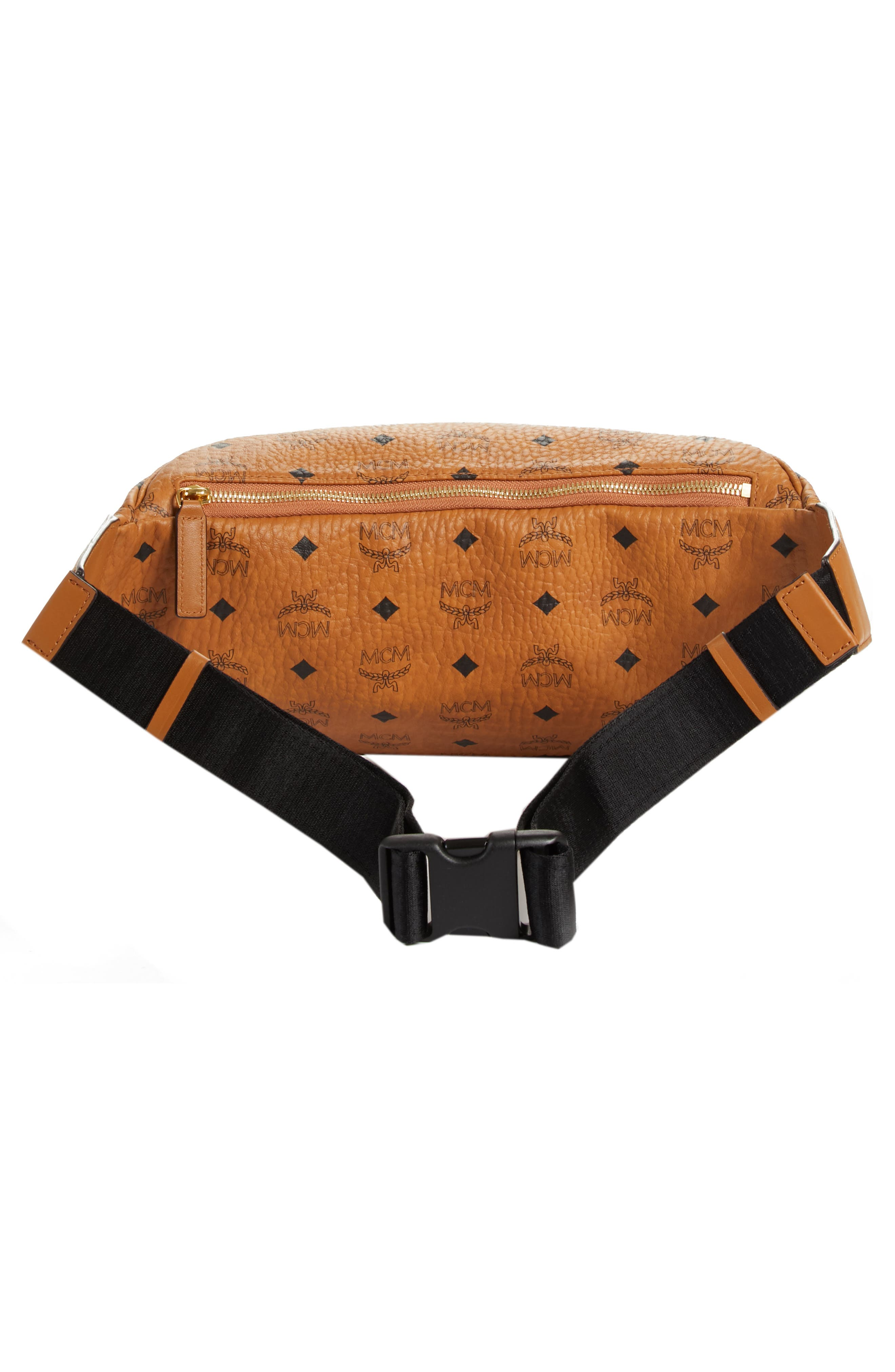 Medium Stark Belt Bag,                             Alternate thumbnail 2, color,                             Cognac Co