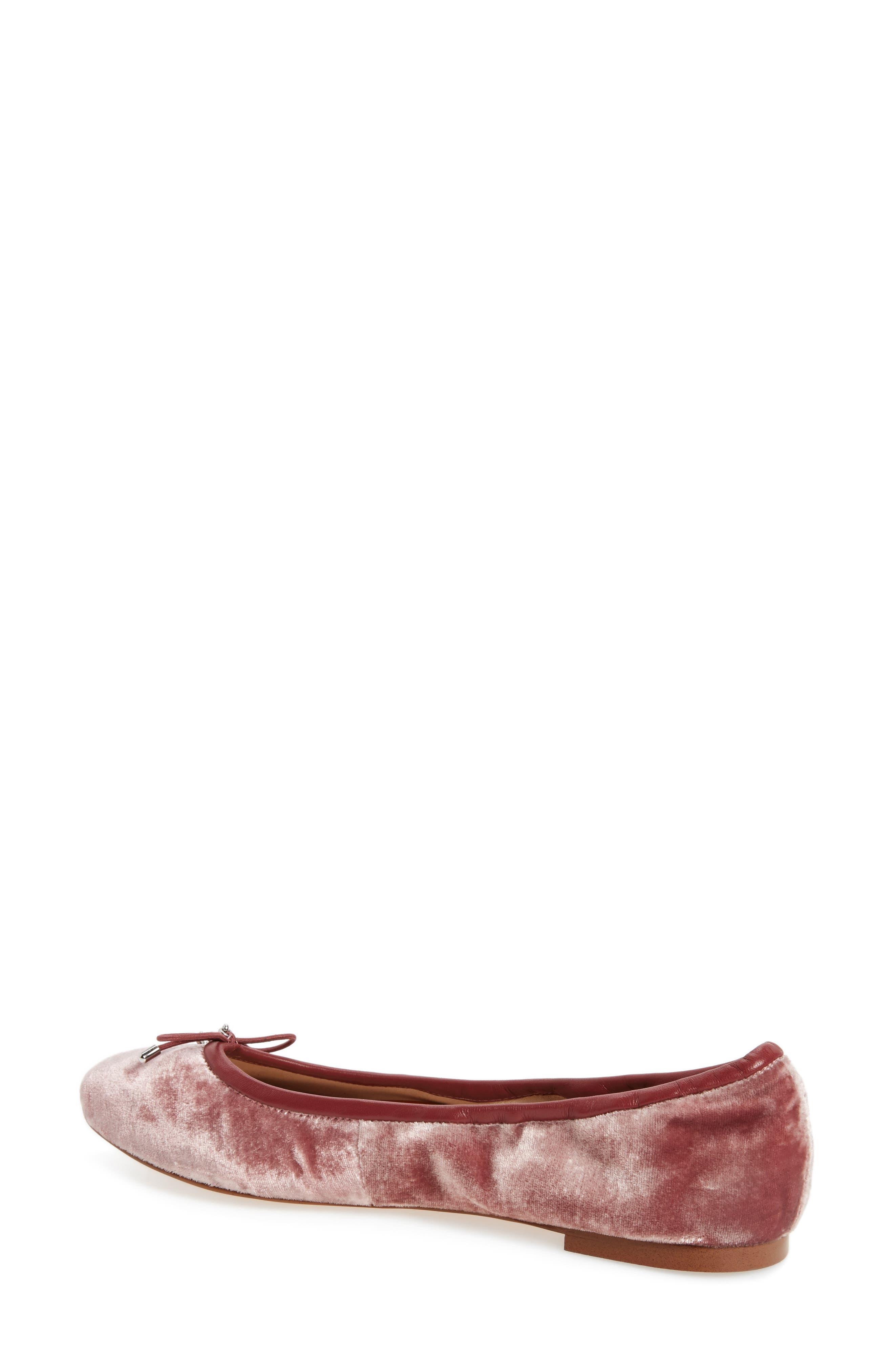 'Felicia' Flat,                             Alternate thumbnail 2, color,                             Faded Rose