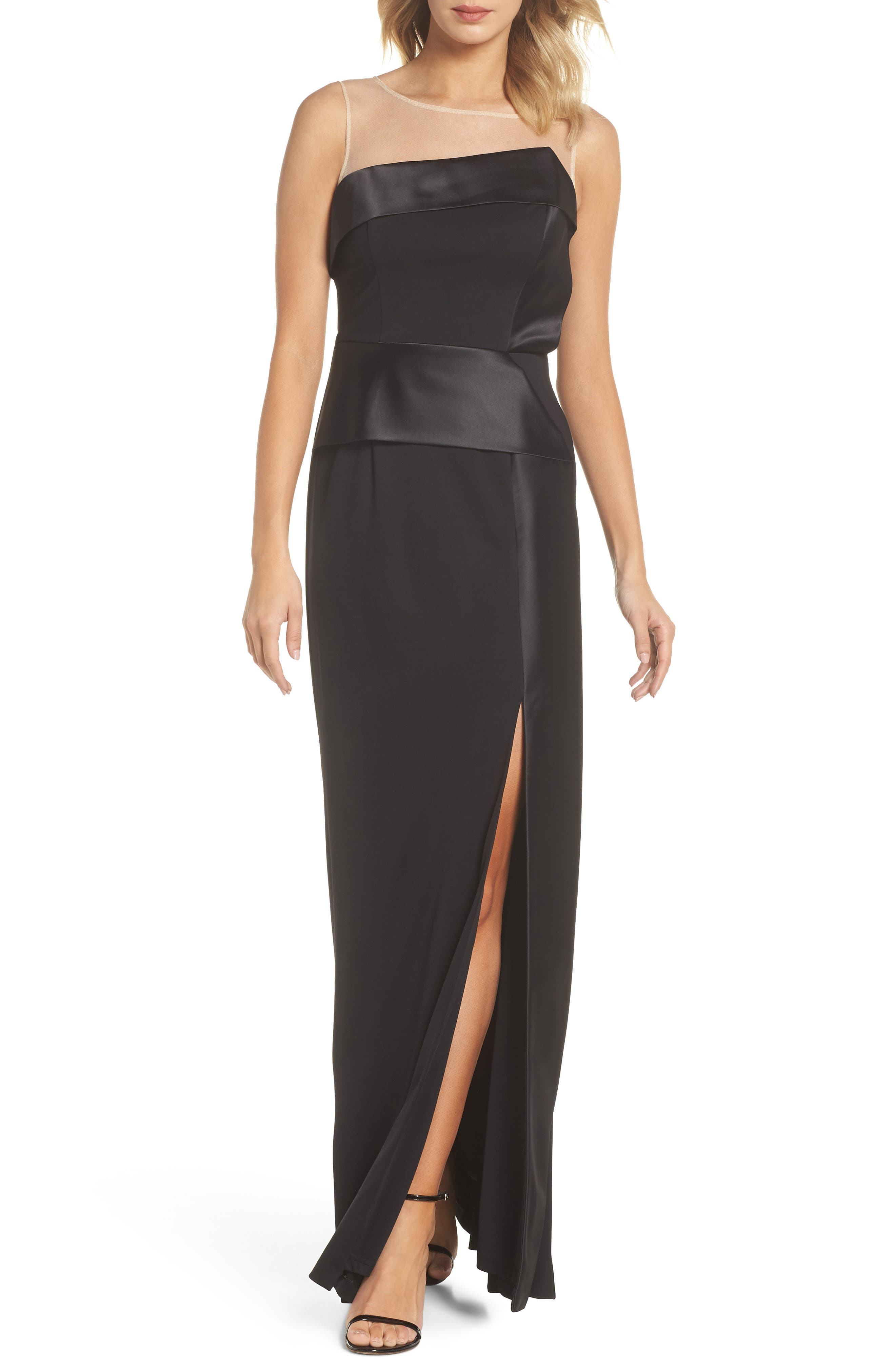Lola Gown,                         Main,                         color, Black