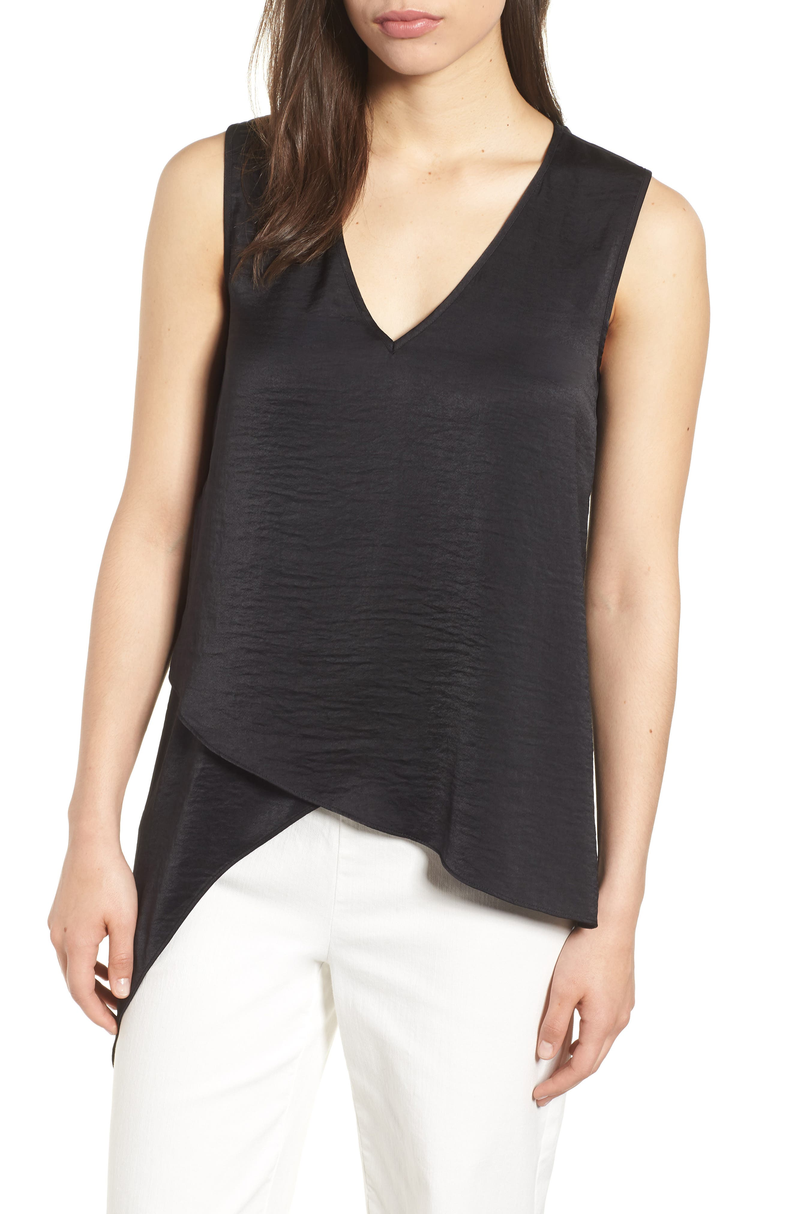 Asymmetrical Blouse by Anne Klein