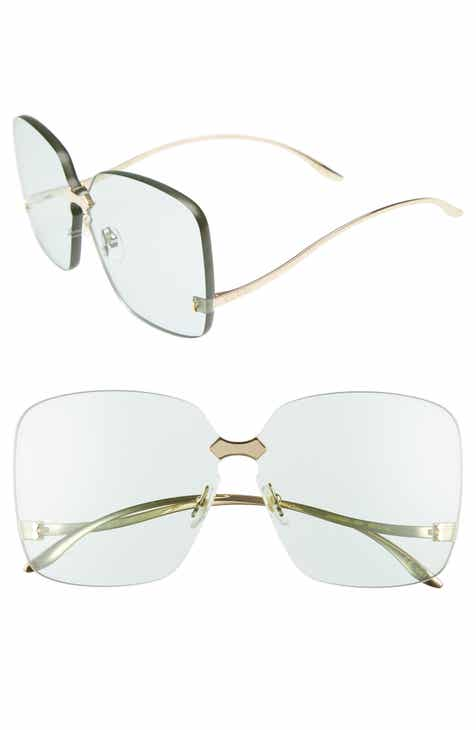 dc30529a29 Gucci 99mm Rimless Sunglasses