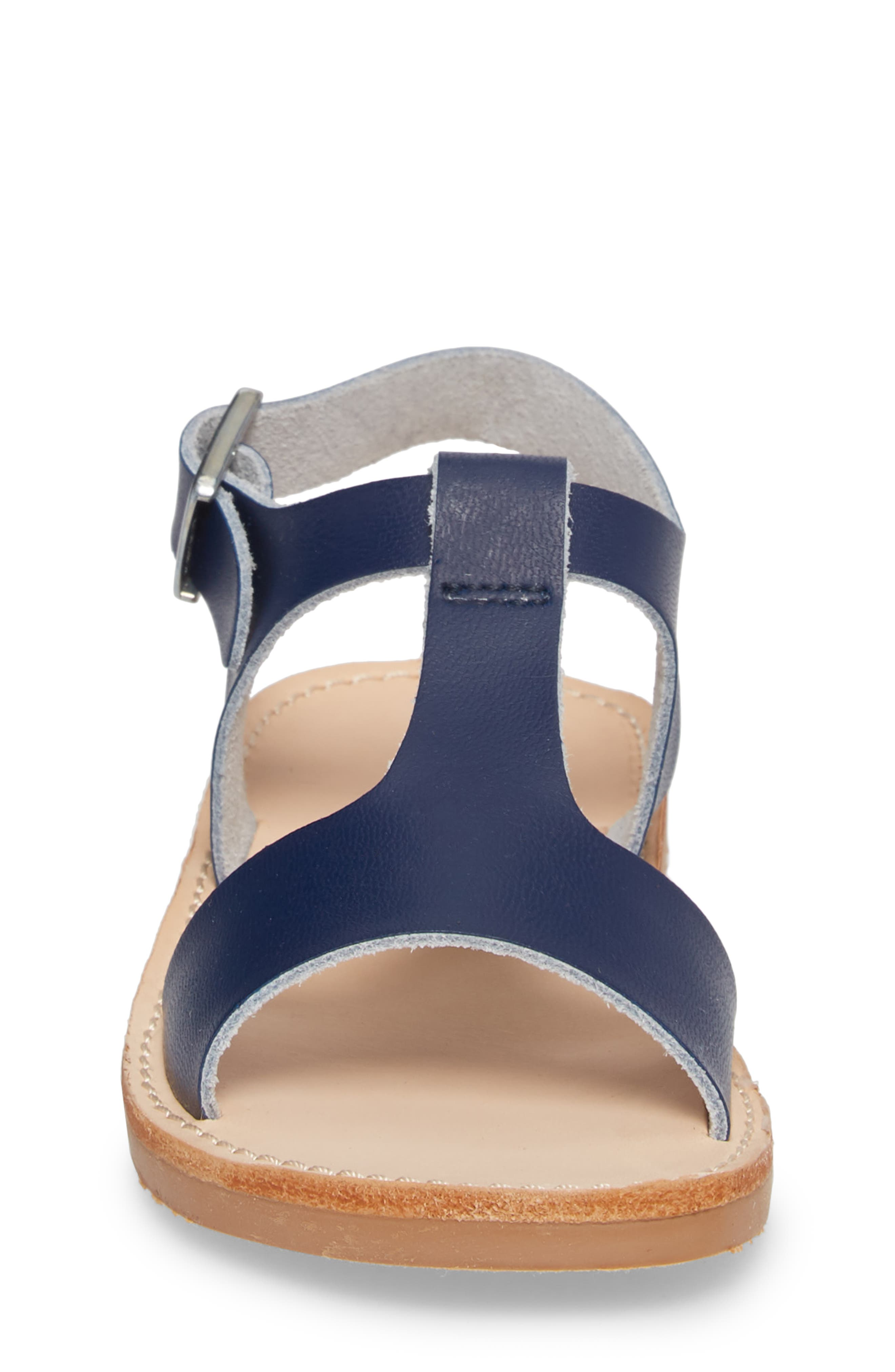 Malibu Water Resistant Sandal,                             Alternate thumbnail 4, color,                             Navy