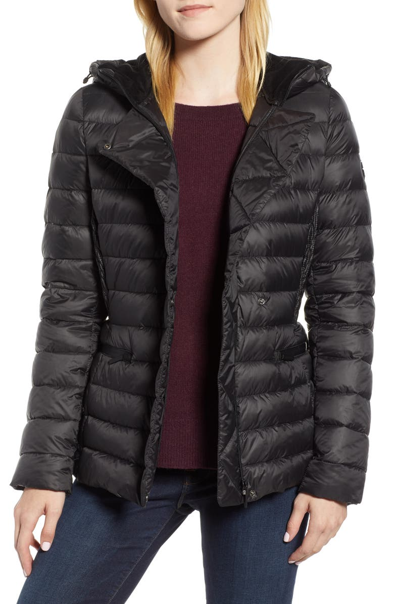 Sporty Hooded Puffer Jacket