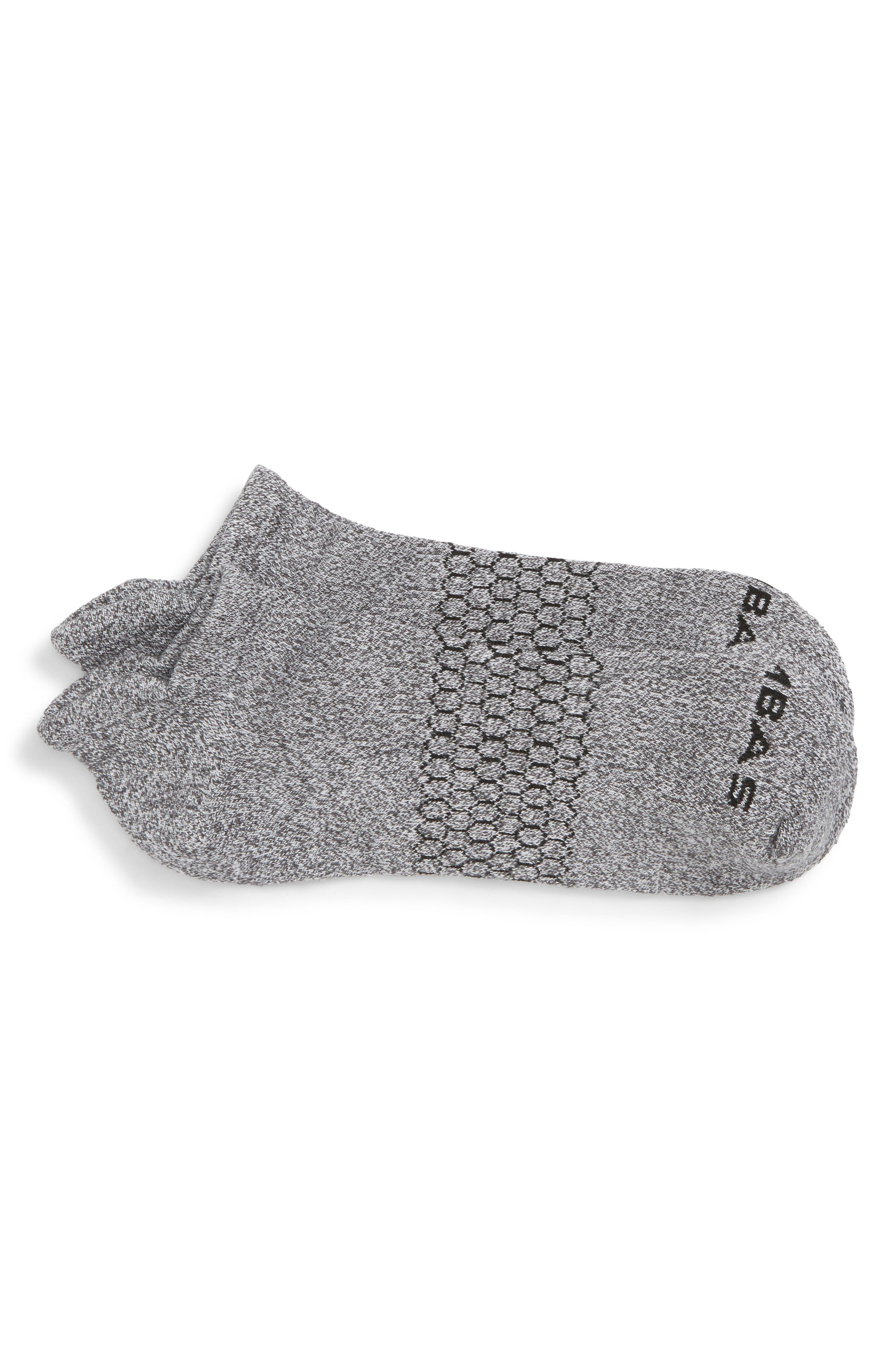 Marl Ankle Socks,                         Main,                         color, Marled Light Charcoal