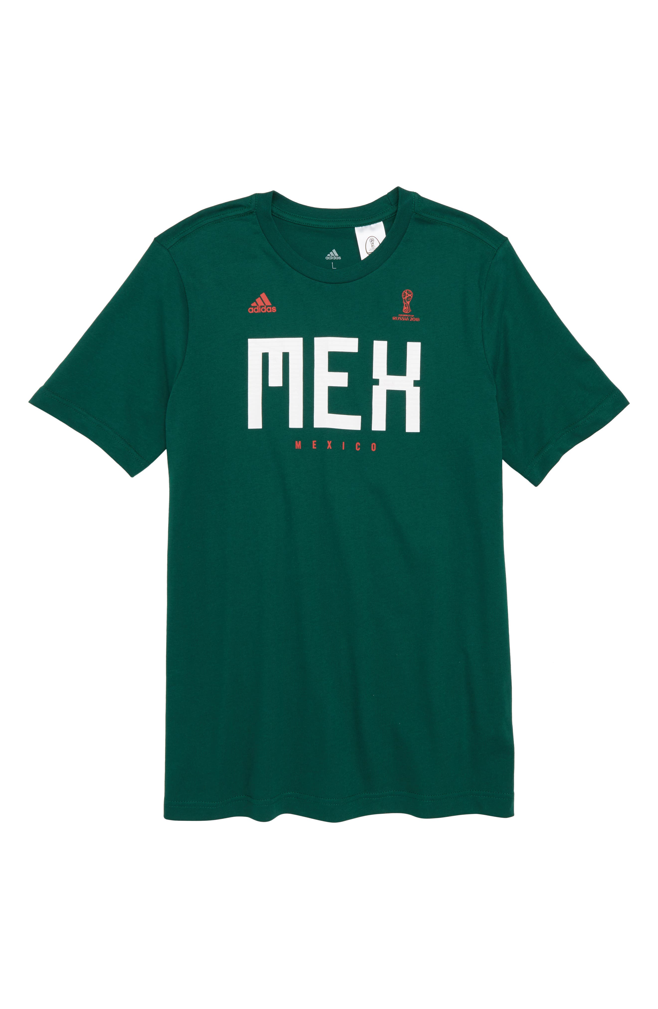 Fifa World Cup Mexico Soccer T Shirt by Adidas
