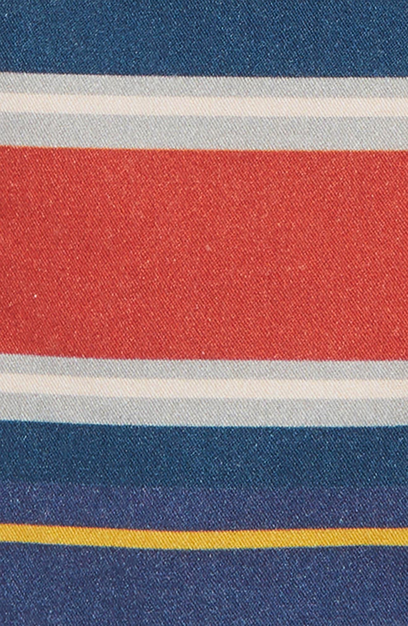 Hudson Stripe Shorts,                             Alternate thumbnail 2, color,                             Navy