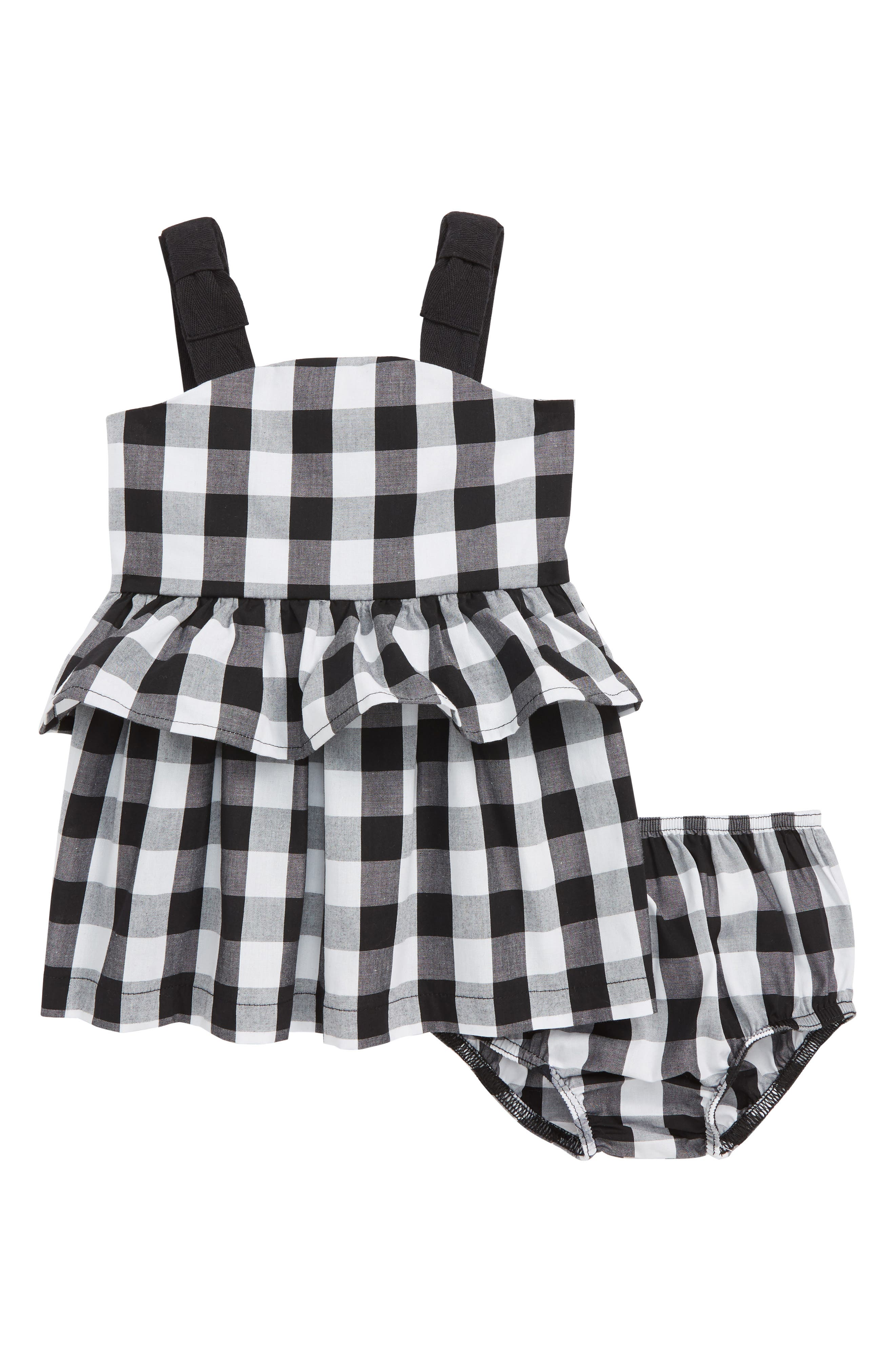 kate spade new york gingham sundress (Baby Girls)