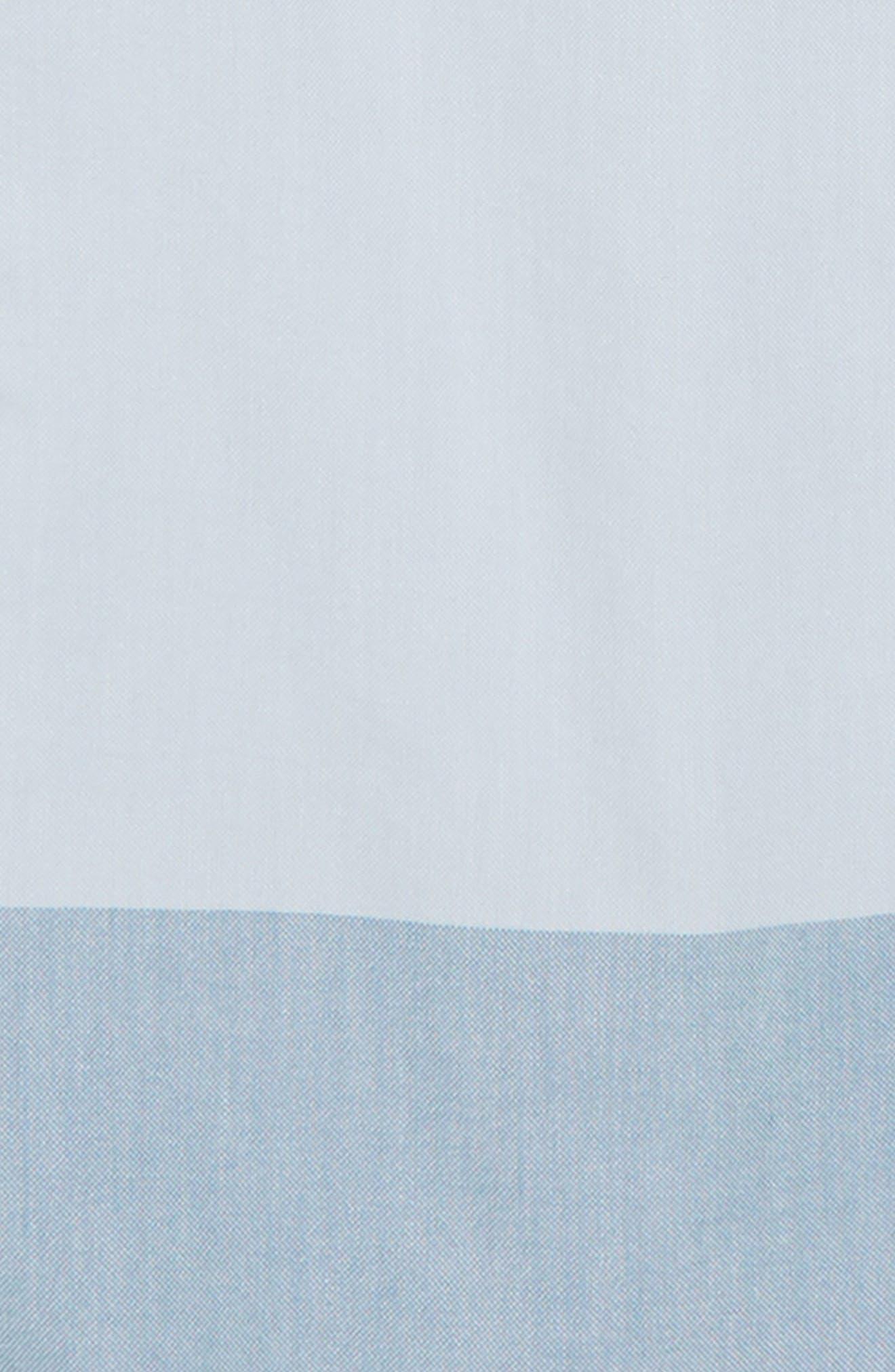 Houser Woven Shirt,                             Alternate thumbnail 2, color,                             White/ Real Teal