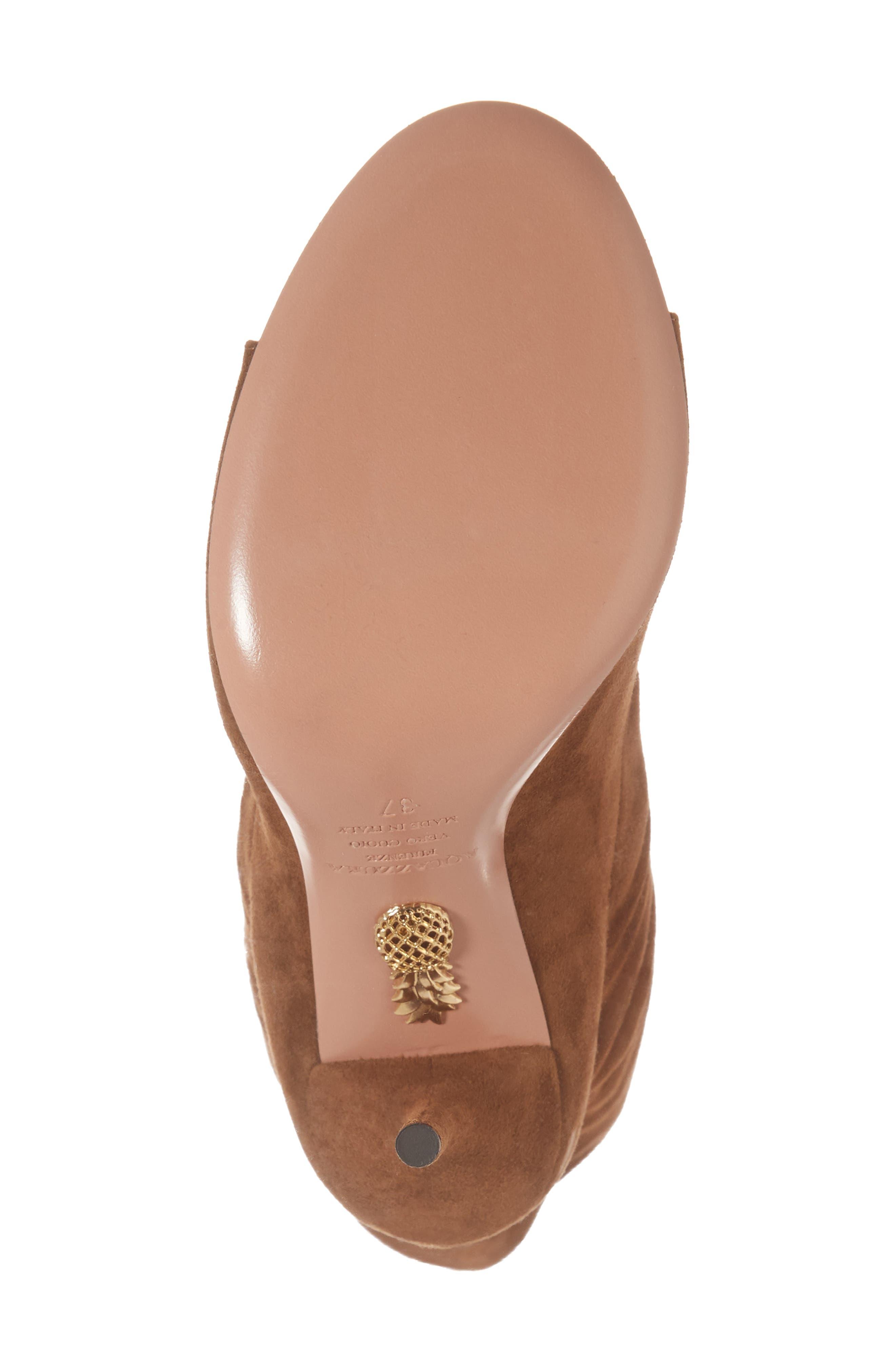 Alternate Image 6  - Aquazzura Touché Open Toe Boot (Women)