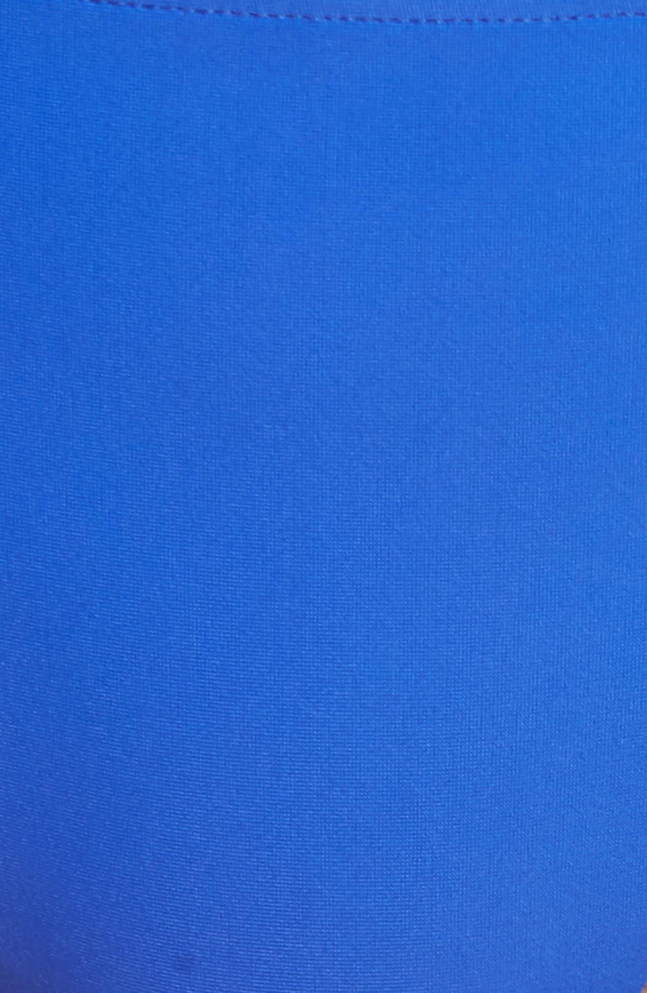 Sunset Bikini Bottoms,                             Alternate thumbnail 5, color,                             Blue/ Black