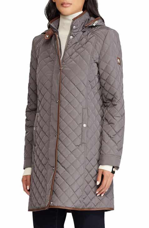 d8ccea3810a Women s Lauren Ralph Lauren Leather   Faux Leather Coats   Jackets ...
