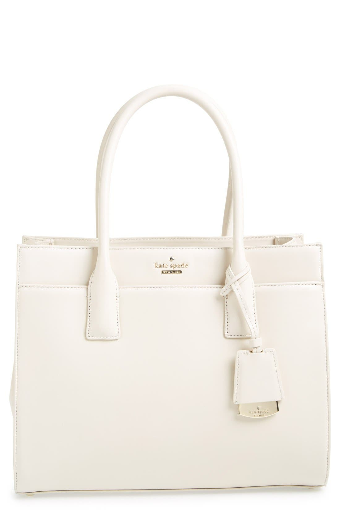 Alternate Image 1 Selected - kate spade new york 'lucca drive - candace' leather tote