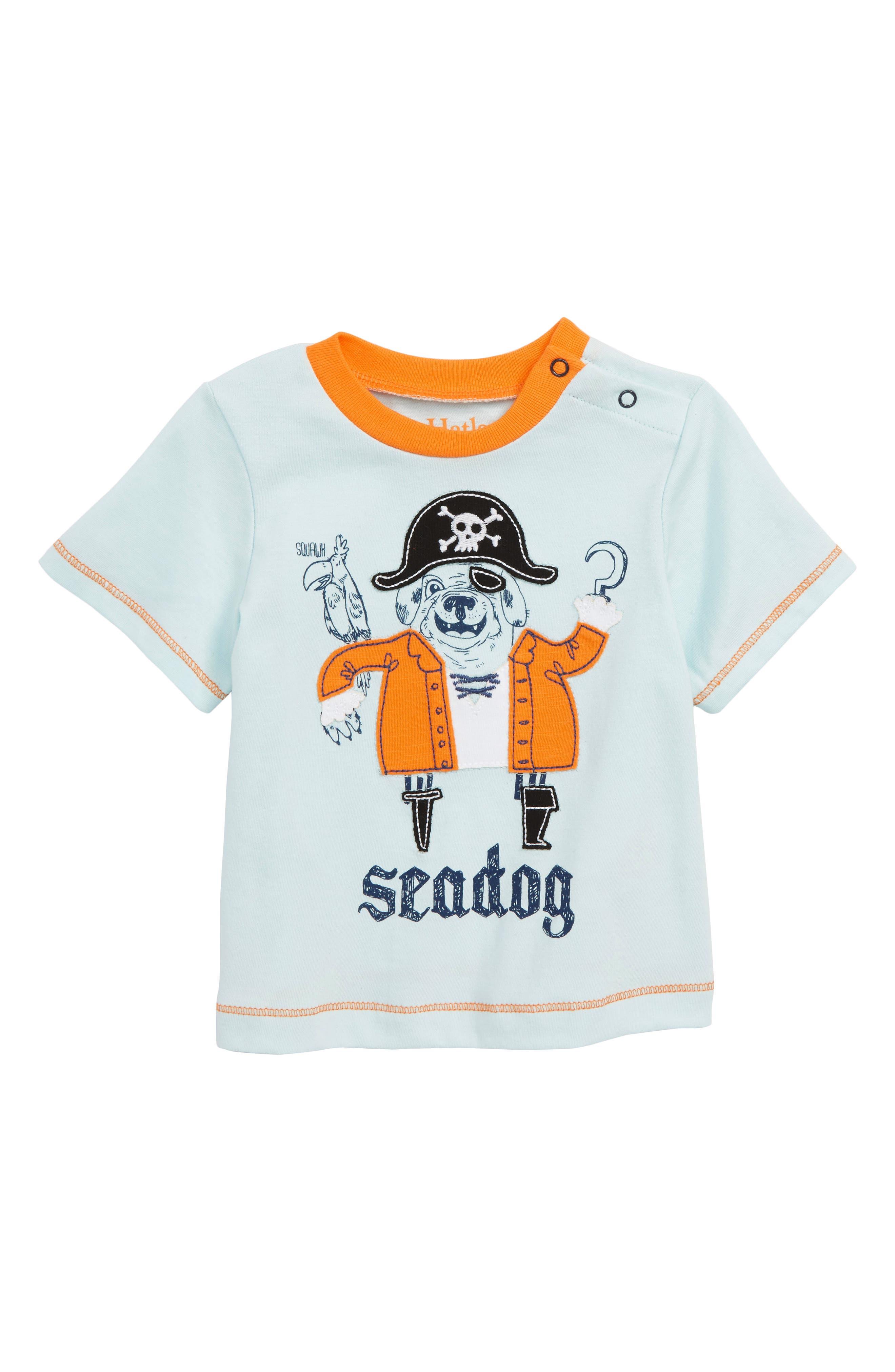Graphic T-Shirt,                             Main thumbnail 1, color,                             Seadog Pirate