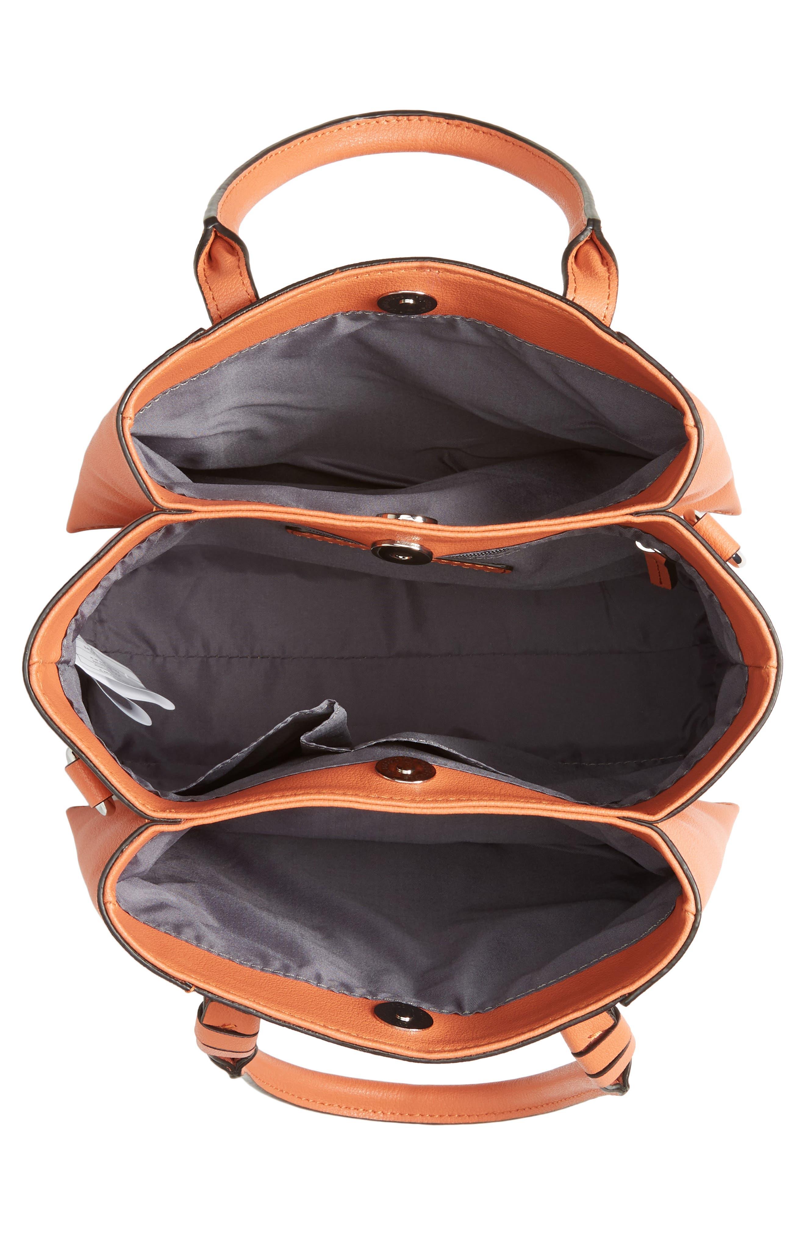 Everly Mini Shoulder Bag,                             Alternate thumbnail 4, color,                             Red