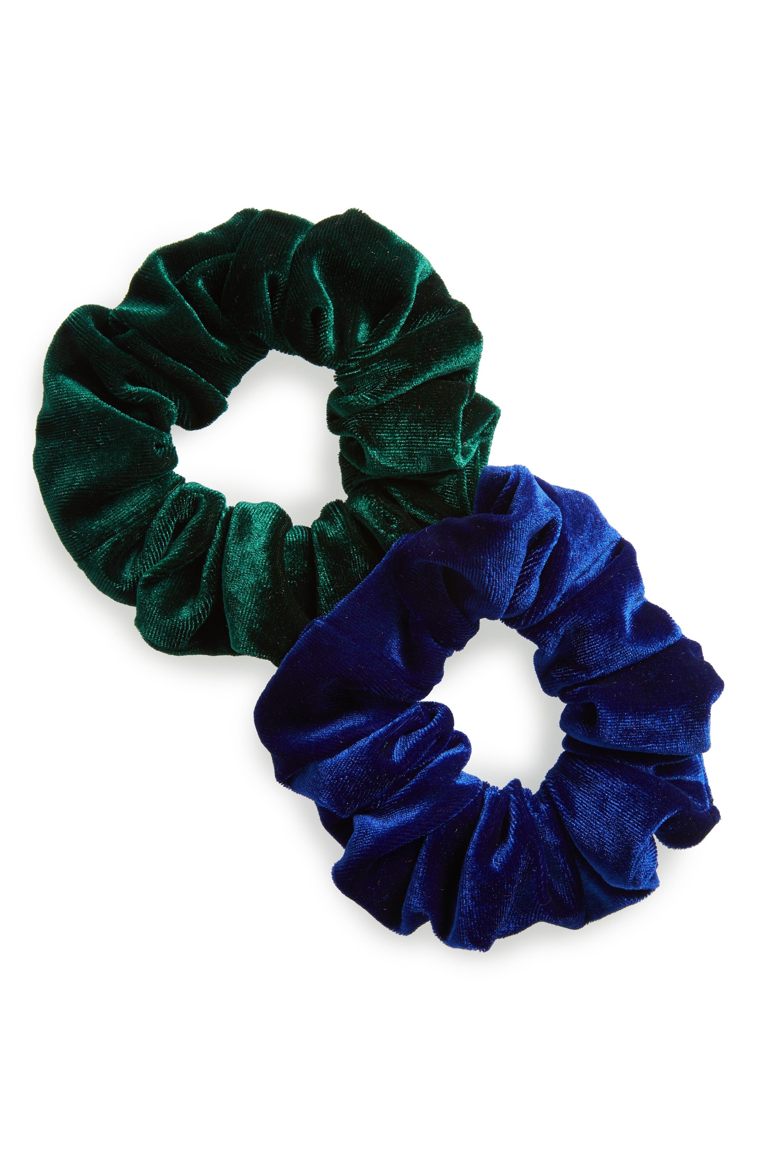 Cara 2-Pack Velvet Scrunchies
