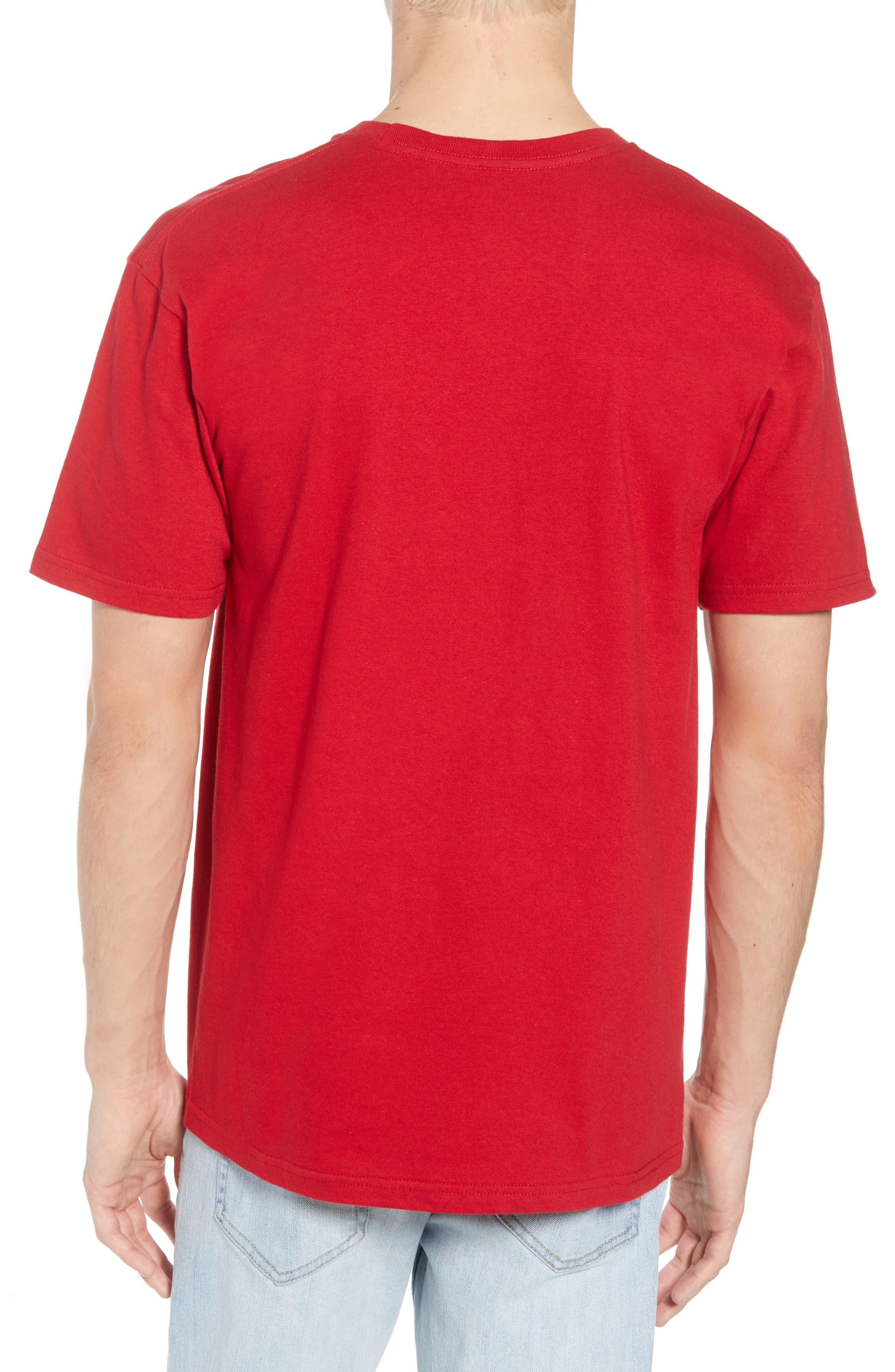 x Marvel<sup>®</sup> Iron Man T-Shirt,                             Alternate thumbnail 2, color,                             Cardinal