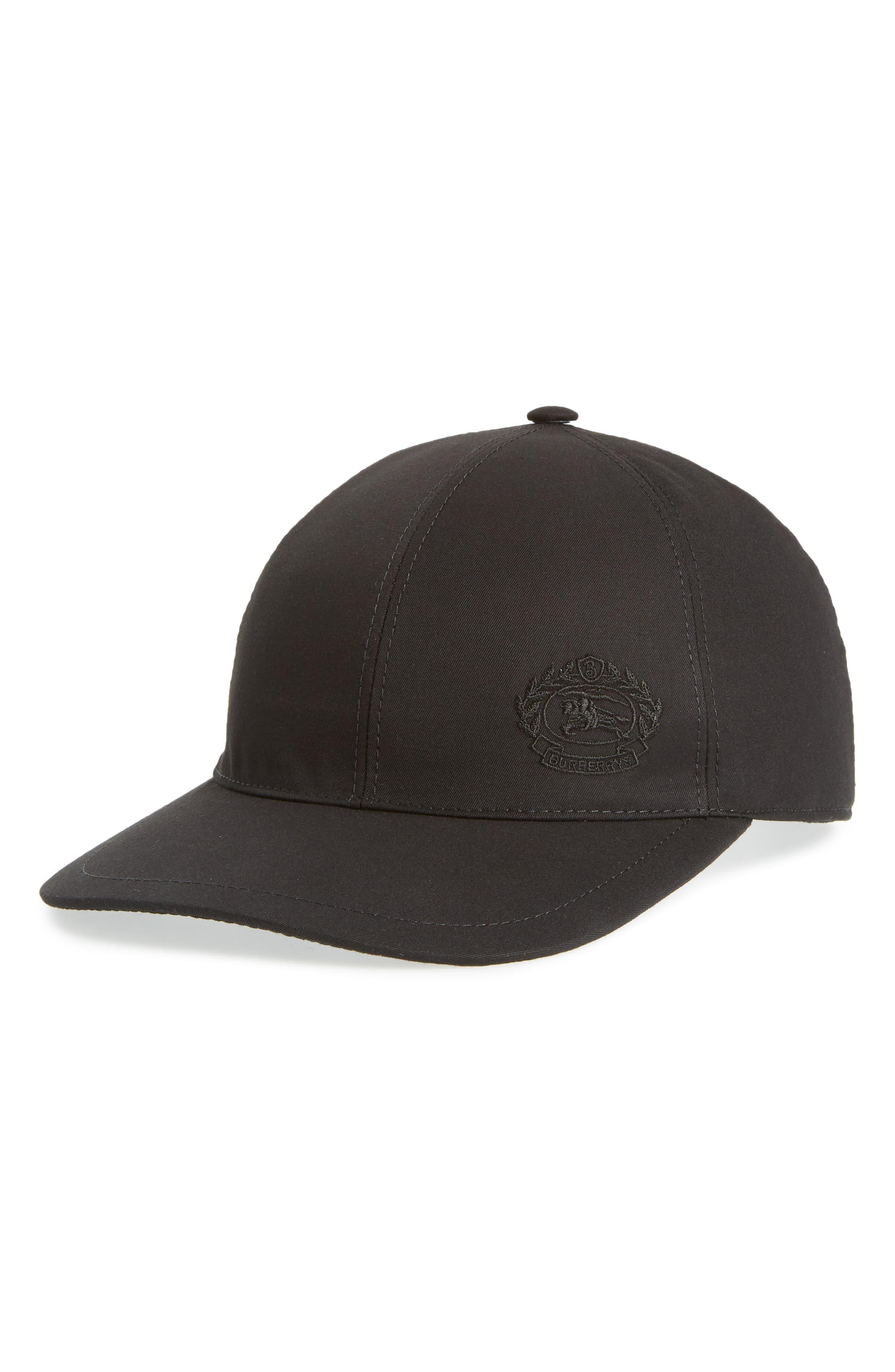 Burberry DK Crest Baseball Cap