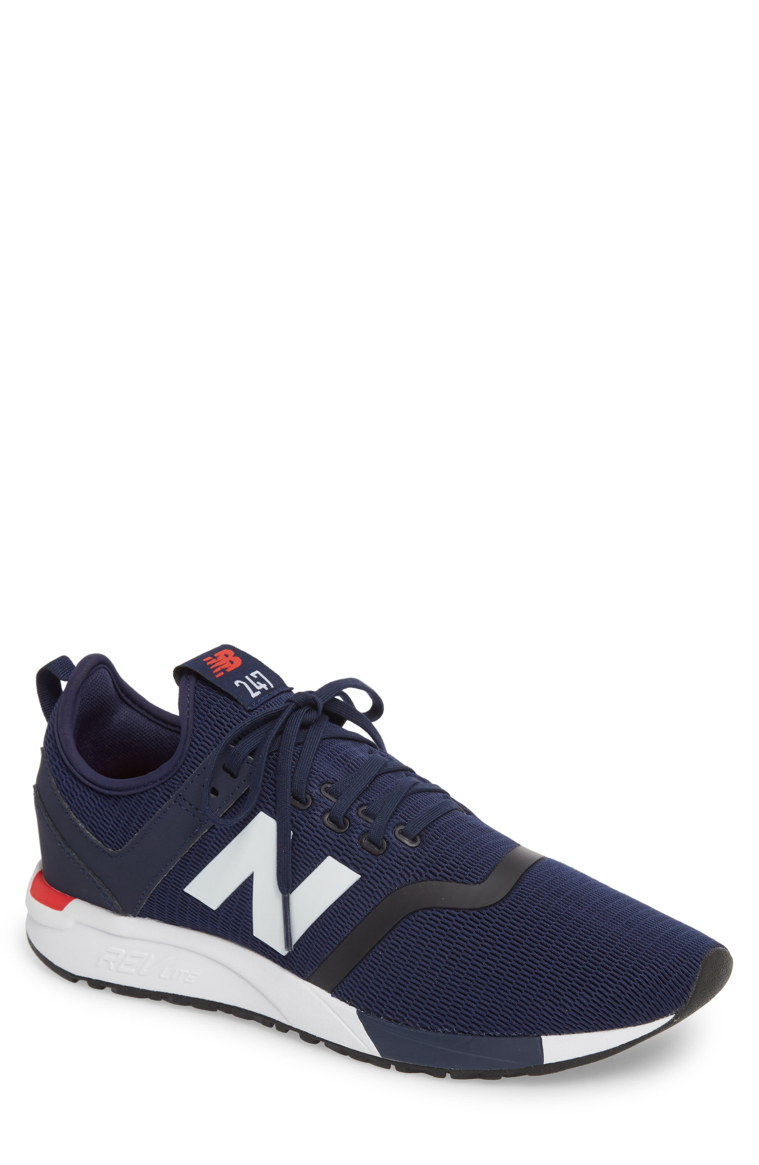 NEW BALANCE Men'S 247 Lace Up Sneakers in Pigment