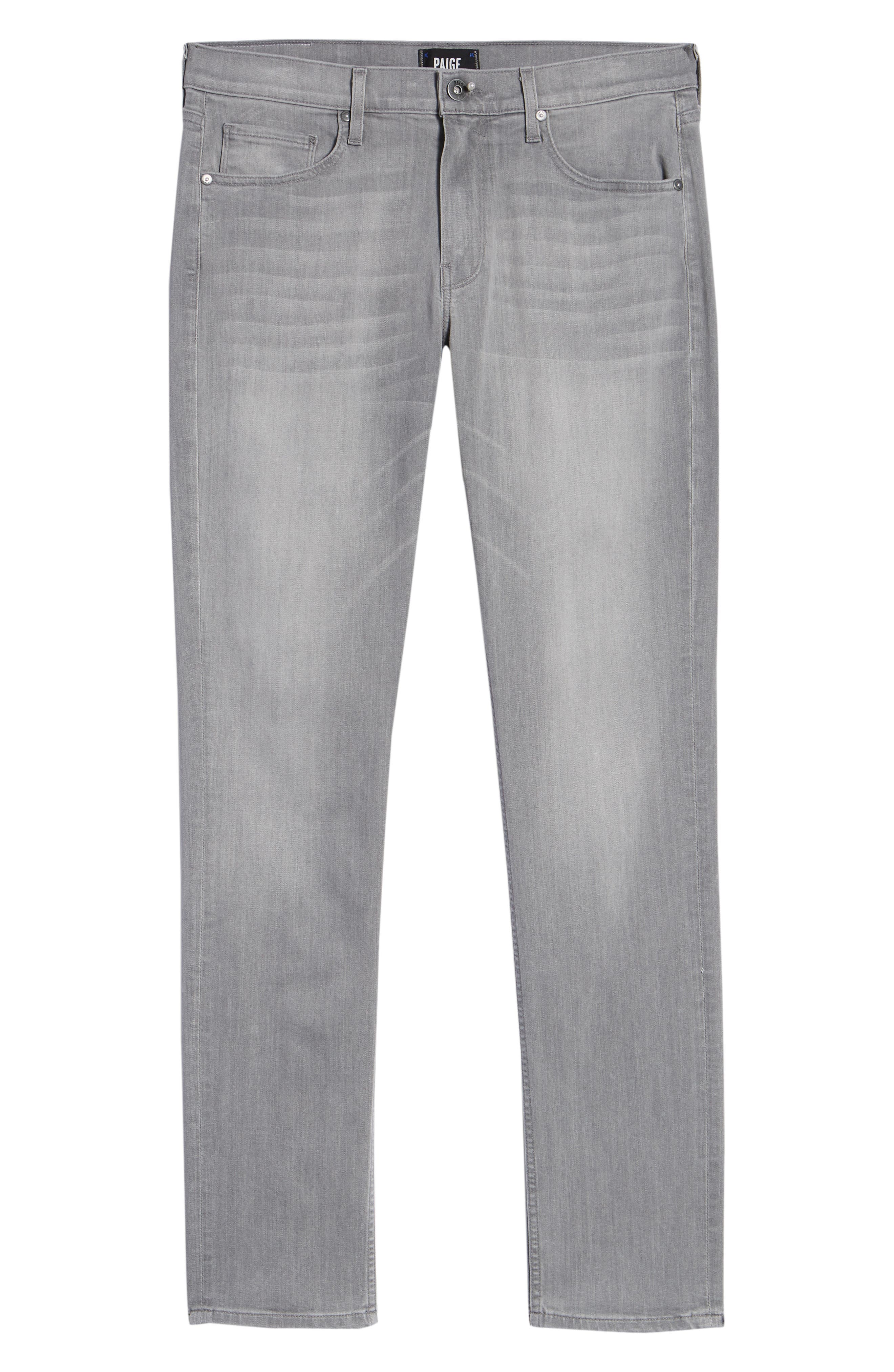 Transcend - Lennox Slim Fit Jeans,                             Alternate thumbnail 6, color,                             Mannor