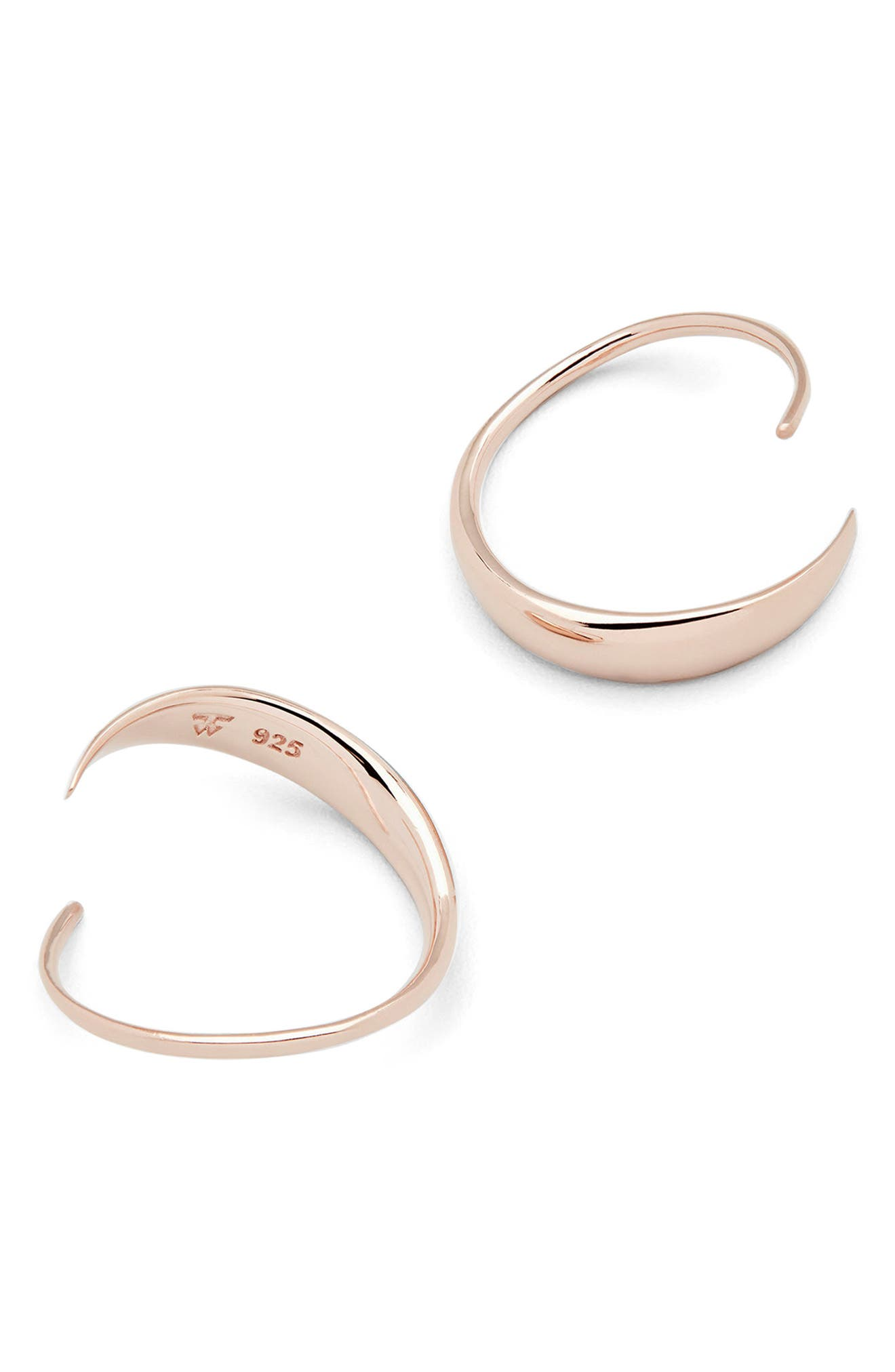 TOM WOOD MINI EAR LOOP EARRINGS