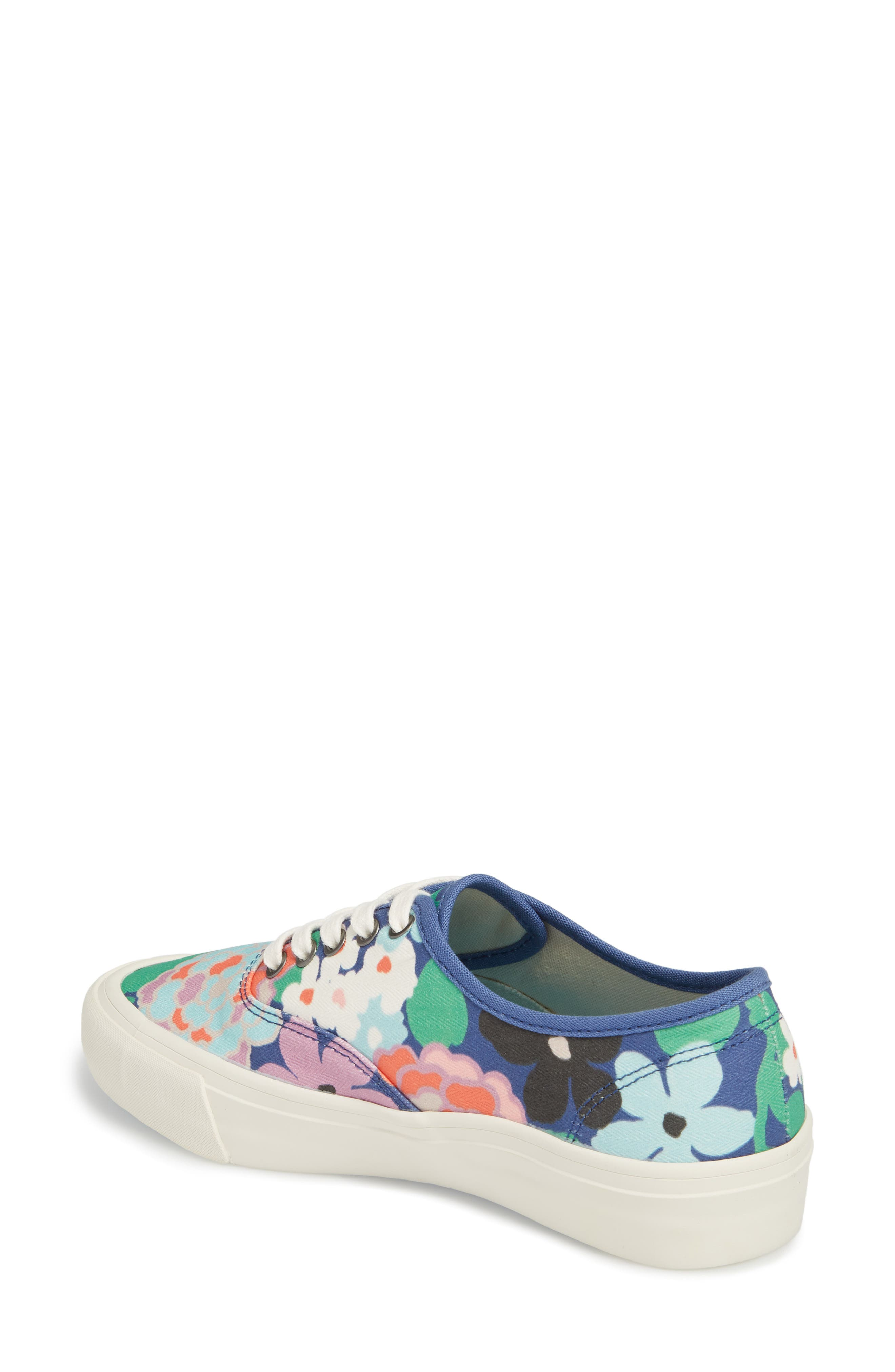 x Trina Turk Legend Sneaker,                             Alternate thumbnail 2, color,                             Greenhouse Floral
