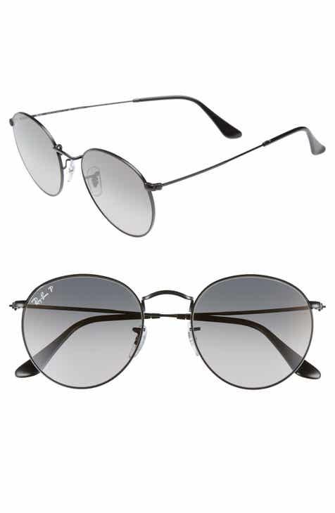 d01f08f5fbe Ray-Ban 53mm Polarized Round Sunglasses