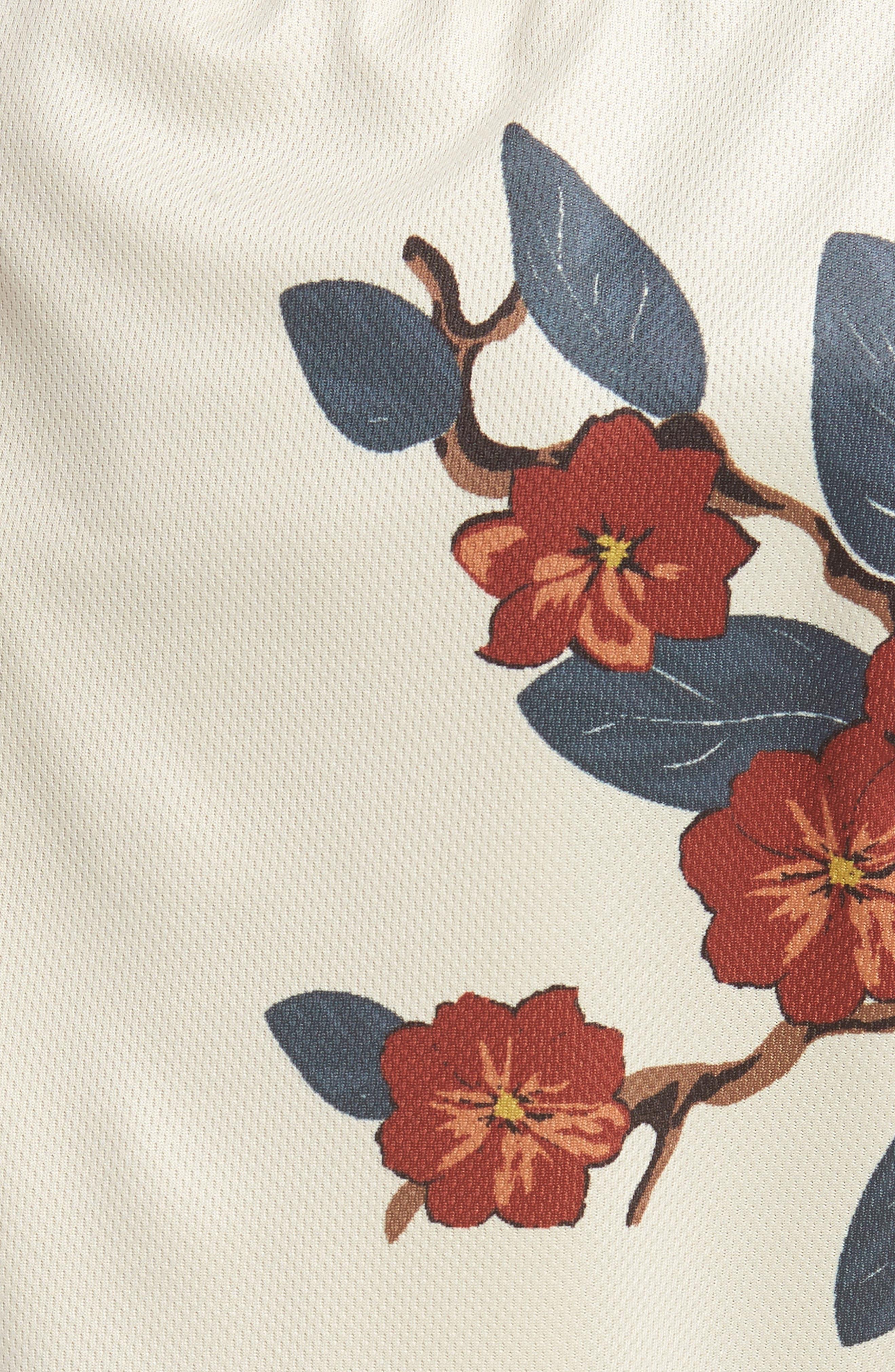 Bloom Sideline Shorts,                             Alternate thumbnail 5, color,                             Natural